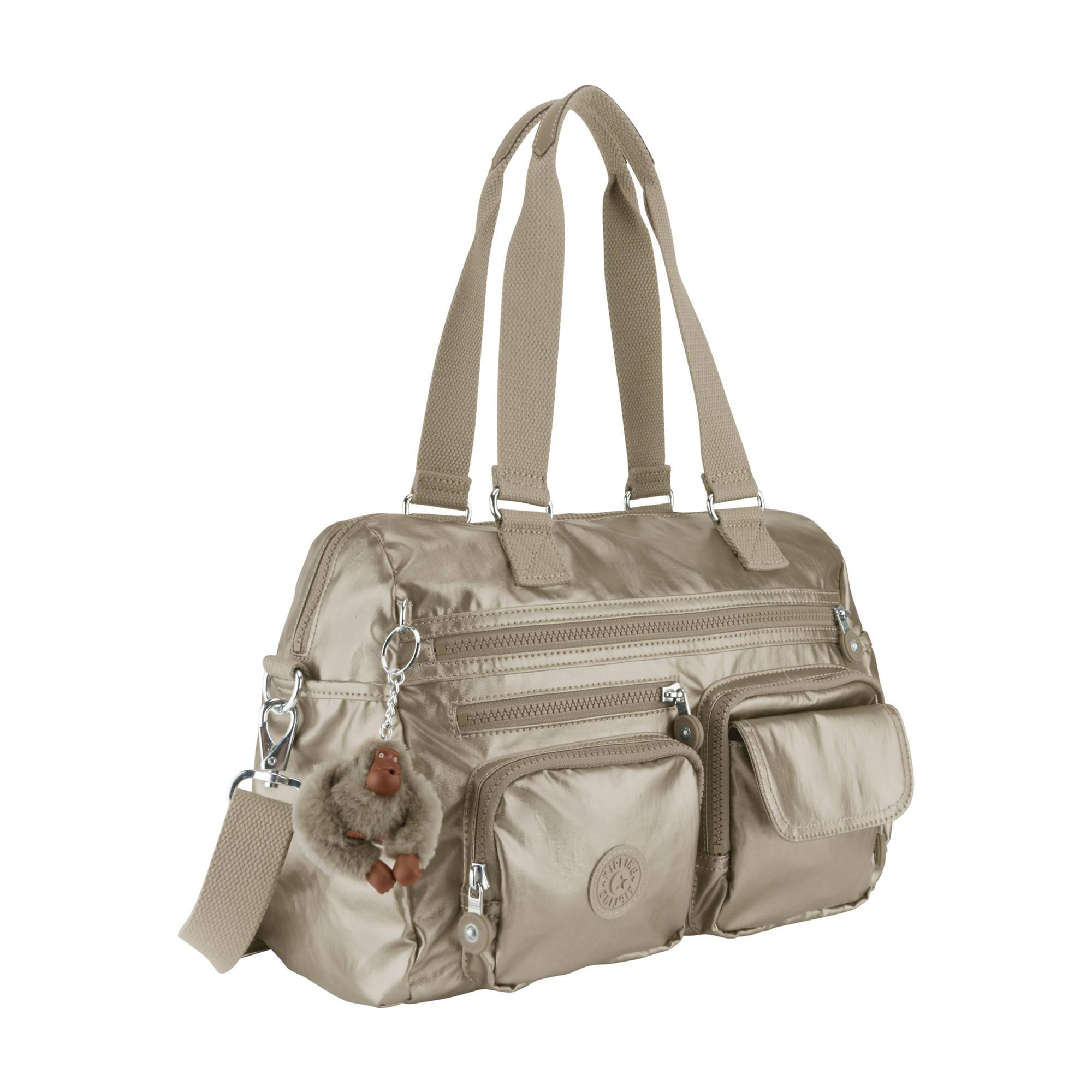 Mara Metallic Handbag Kipling