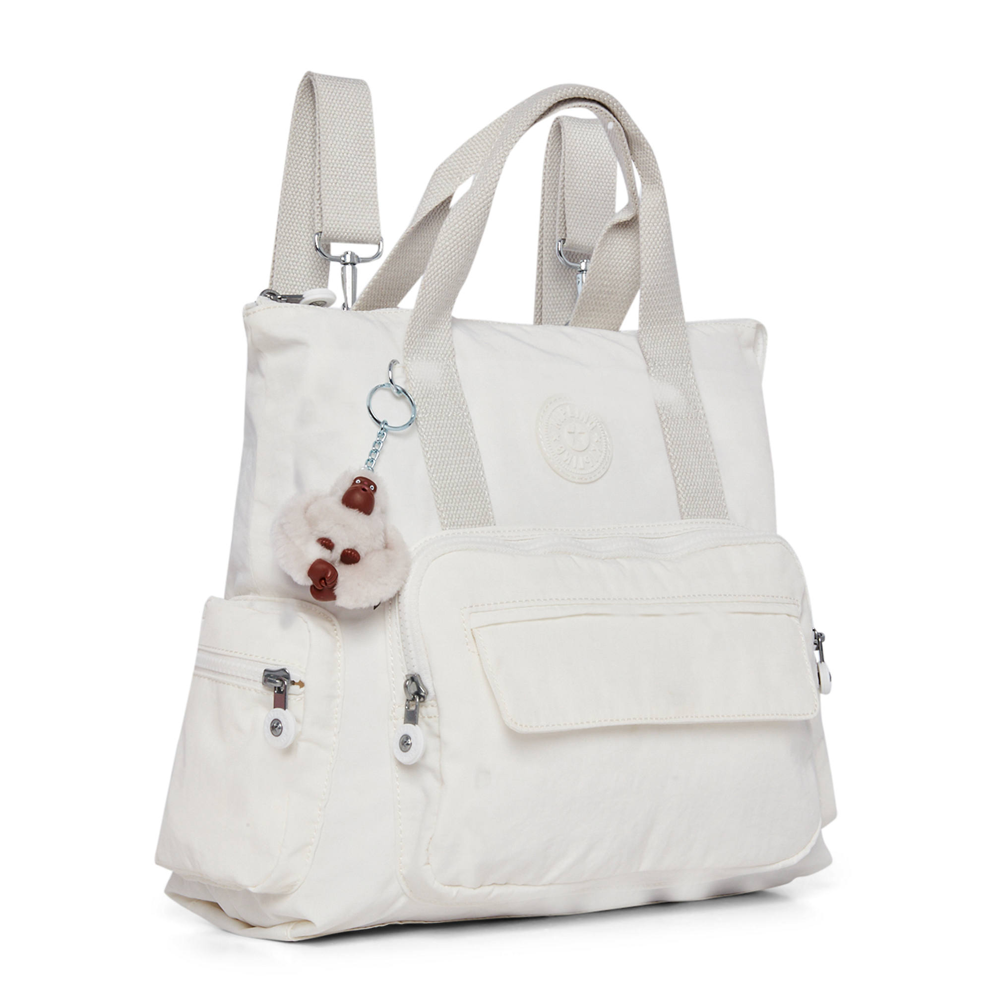 Kipling-Alvy-2-In-1-Convertible-Tote-Bag-Backpack miniatura 5