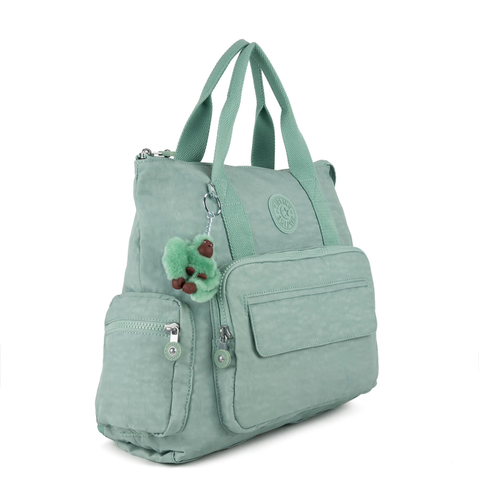 Kipling-Alvy-2-In-1-Convertible-Tote-Bag-Backpack miniatura 20