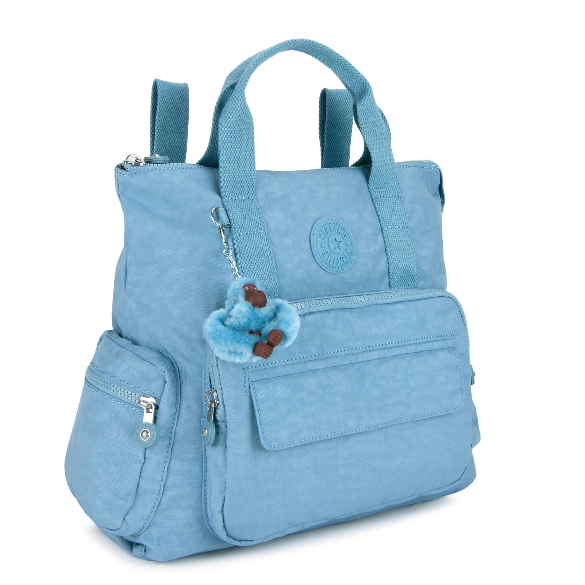Kipling-Alvy-2-In-1-Convertible-Tote-Bag-Backpack miniatura 11