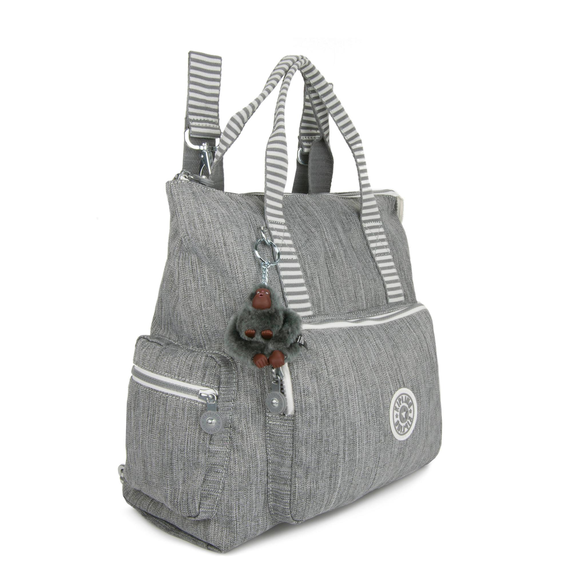 Kipling-Alvy-2-In-1-Convertible-Tote-Bag-Backpack miniatura 26