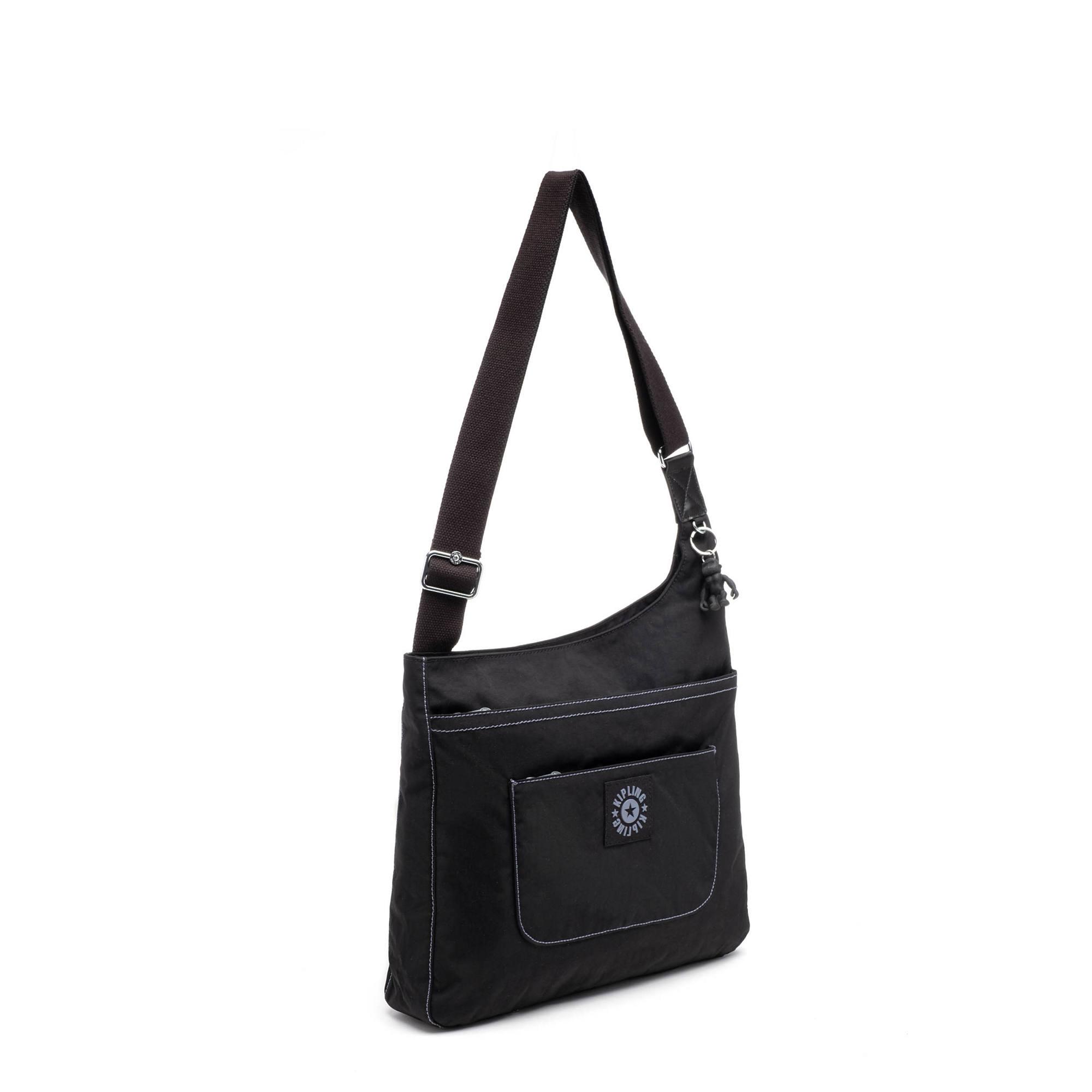 7a052fbc3 Delilah Crossbody Bag,Black Tonal Zipper,large-zoomed