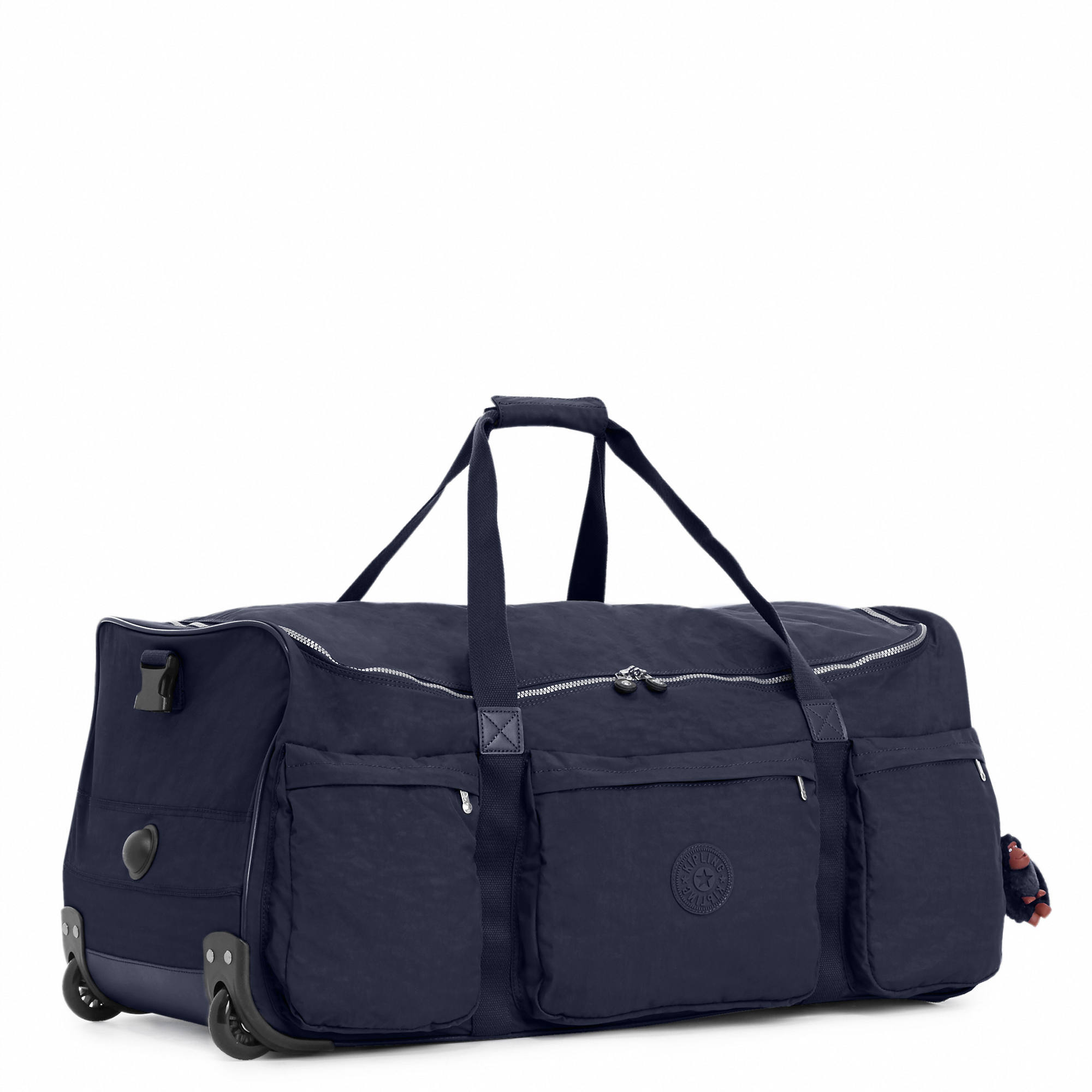 641216eac4 Kipling Discover Large Rolling Luggage Duffel | eBay