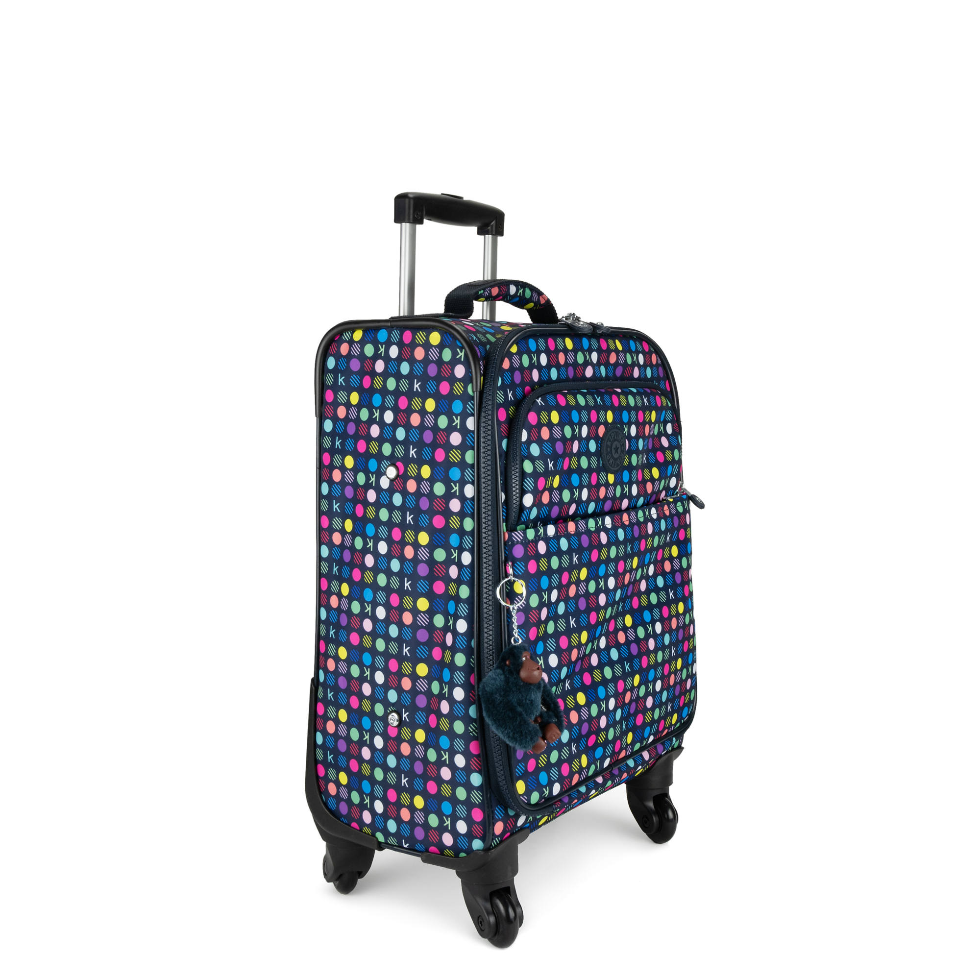 d91b7f8cd5 Parker Small Printed Wheeled Carry-On Luggage,K Multi Dot,large