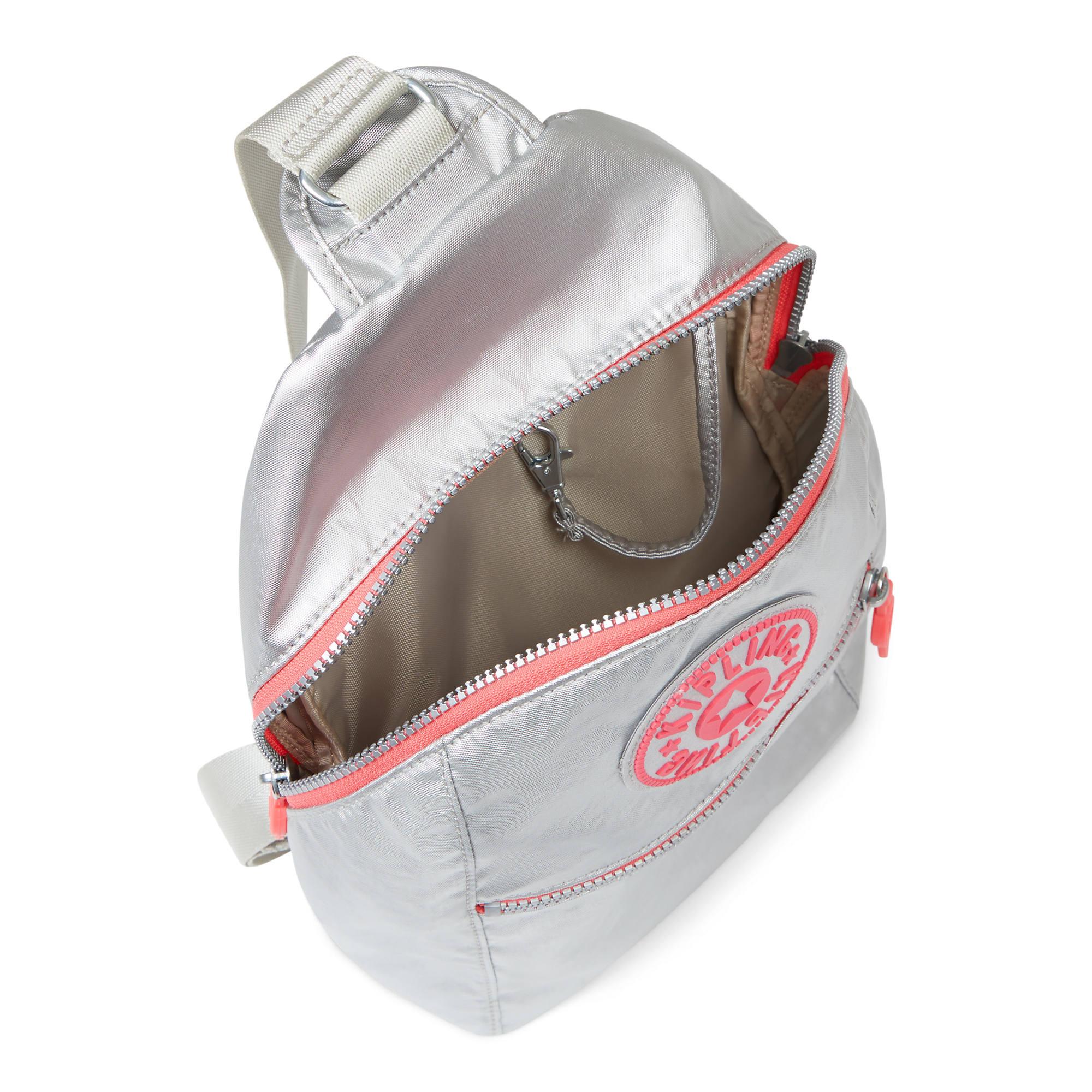 15894f355e Bente Metallic Backpack,Platinum Metallic,large