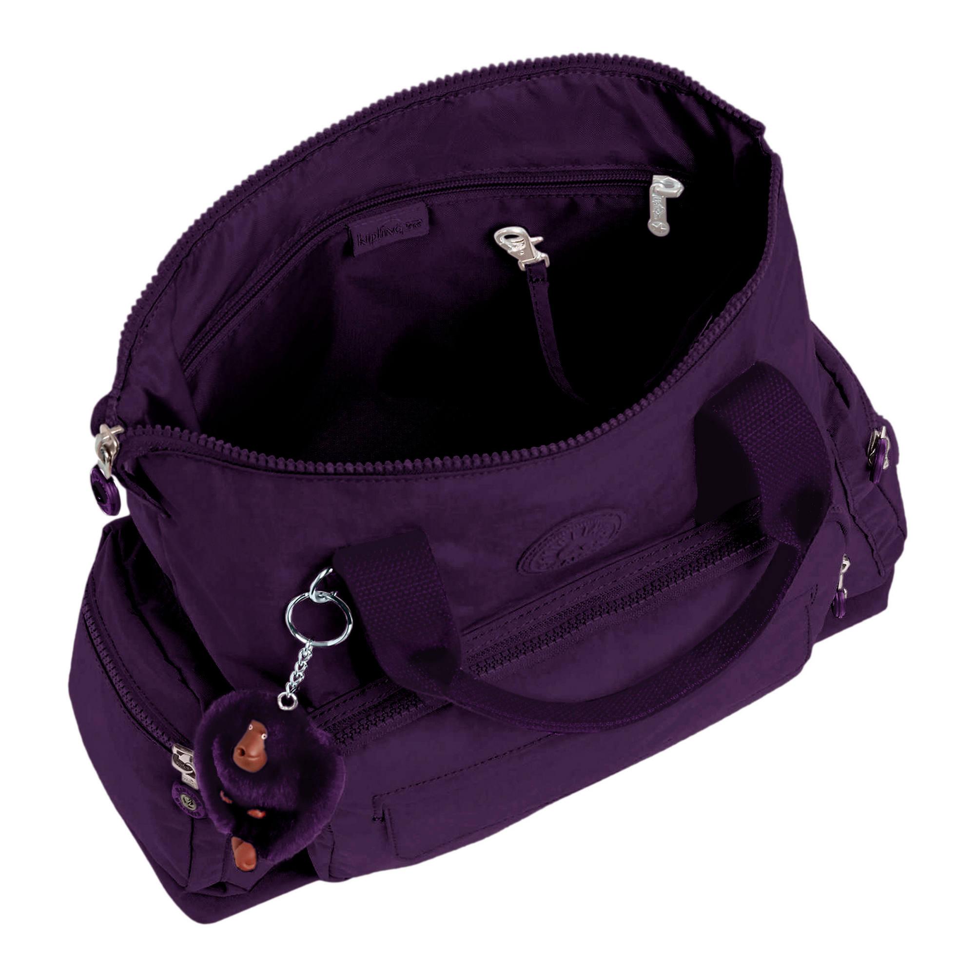 Kipling-Alvy-2-In-1-Convertible-Tote-Bag-Backpack miniatura 18