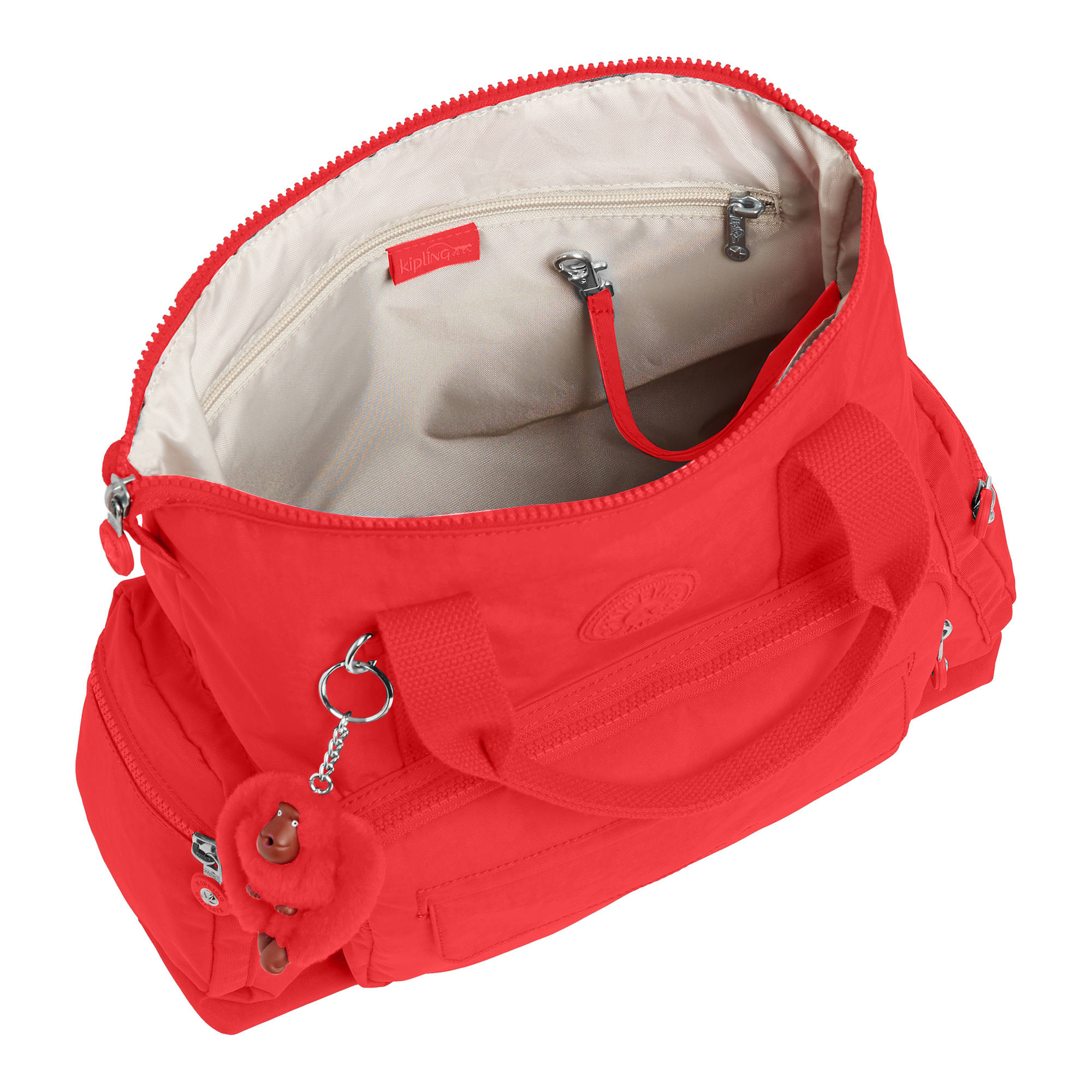 Kipling-Alvy-2-In-1-Convertible-Tote-Bag-Backpack miniatura 15