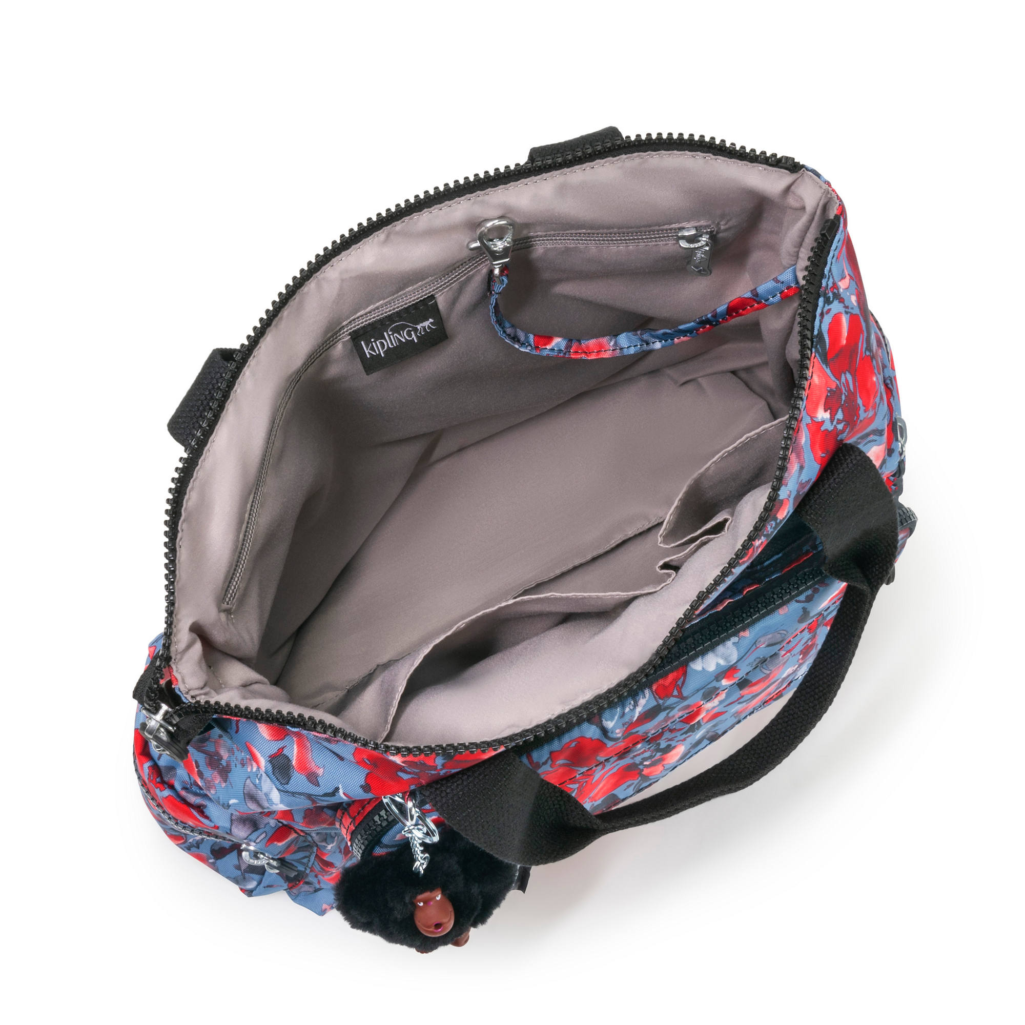Kipling-Alvy-2-In-1-Convertible-Tote-Bag-Backpack miniatura 24