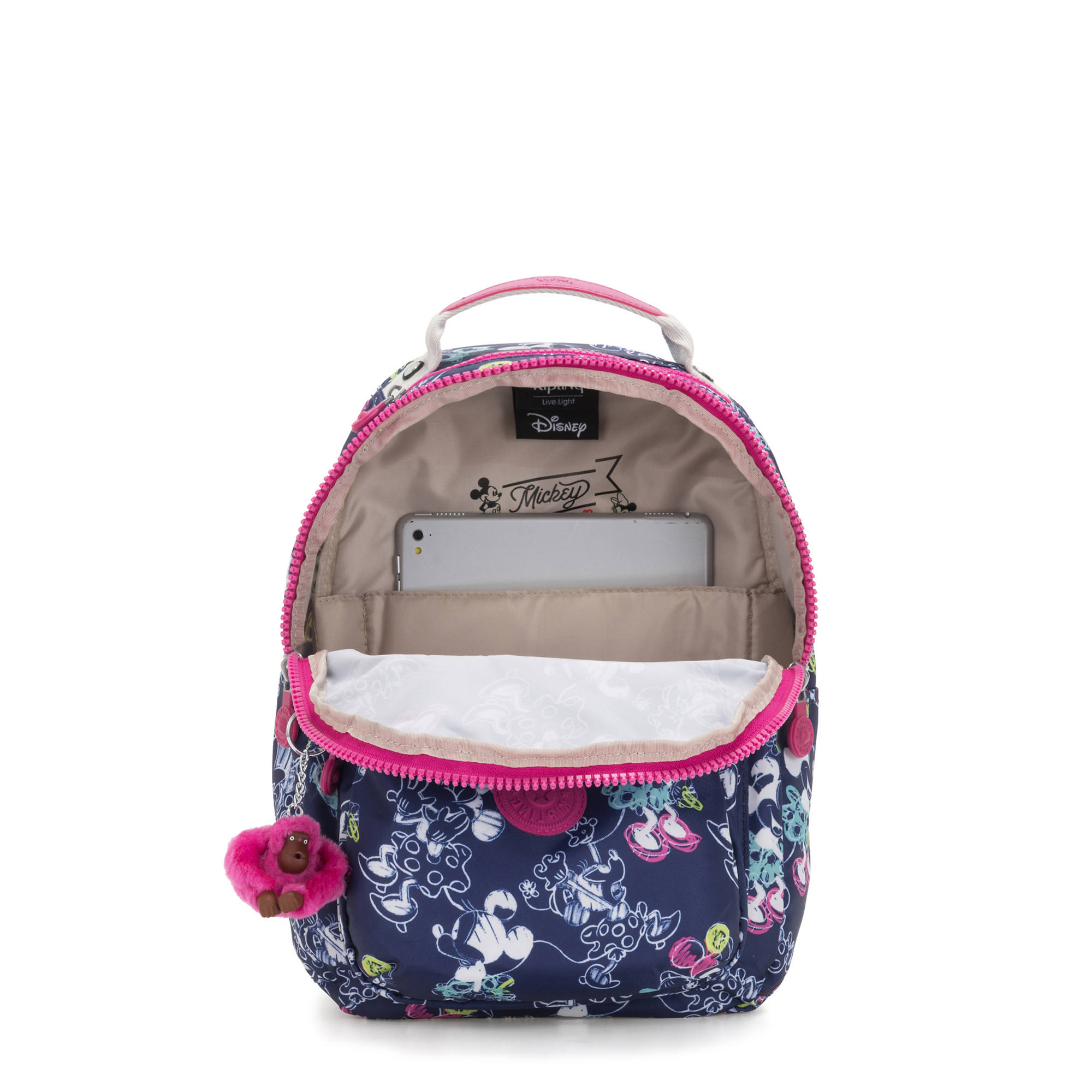 4415c5e47e0 Disney's Minnie Mouse and Mickey Mouse Seoul GO Small Backpack,DOODLE  BLUE,large