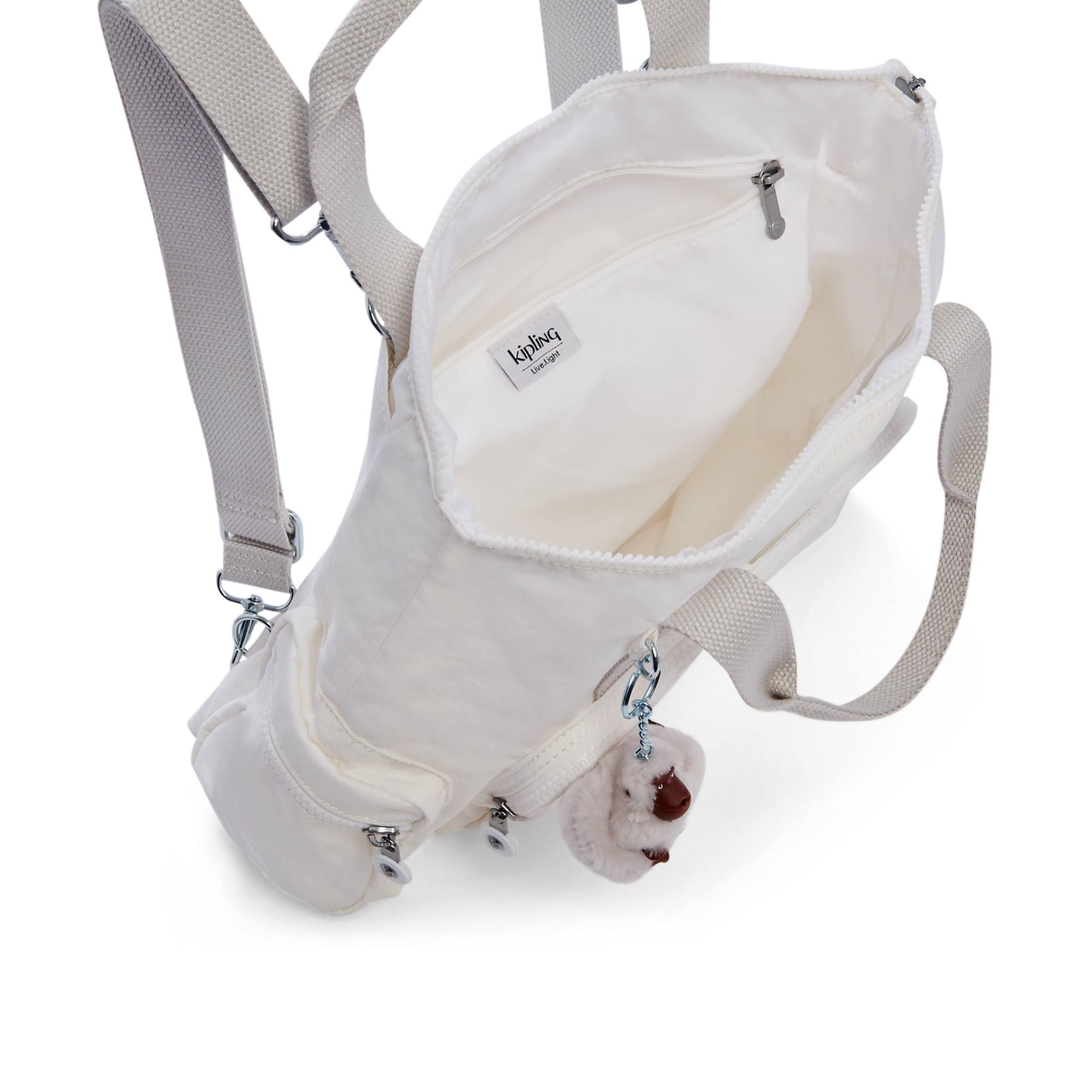 Kipling-Alvy-2-In-1-Convertible-Tote-Bag-Backpack miniatura 6