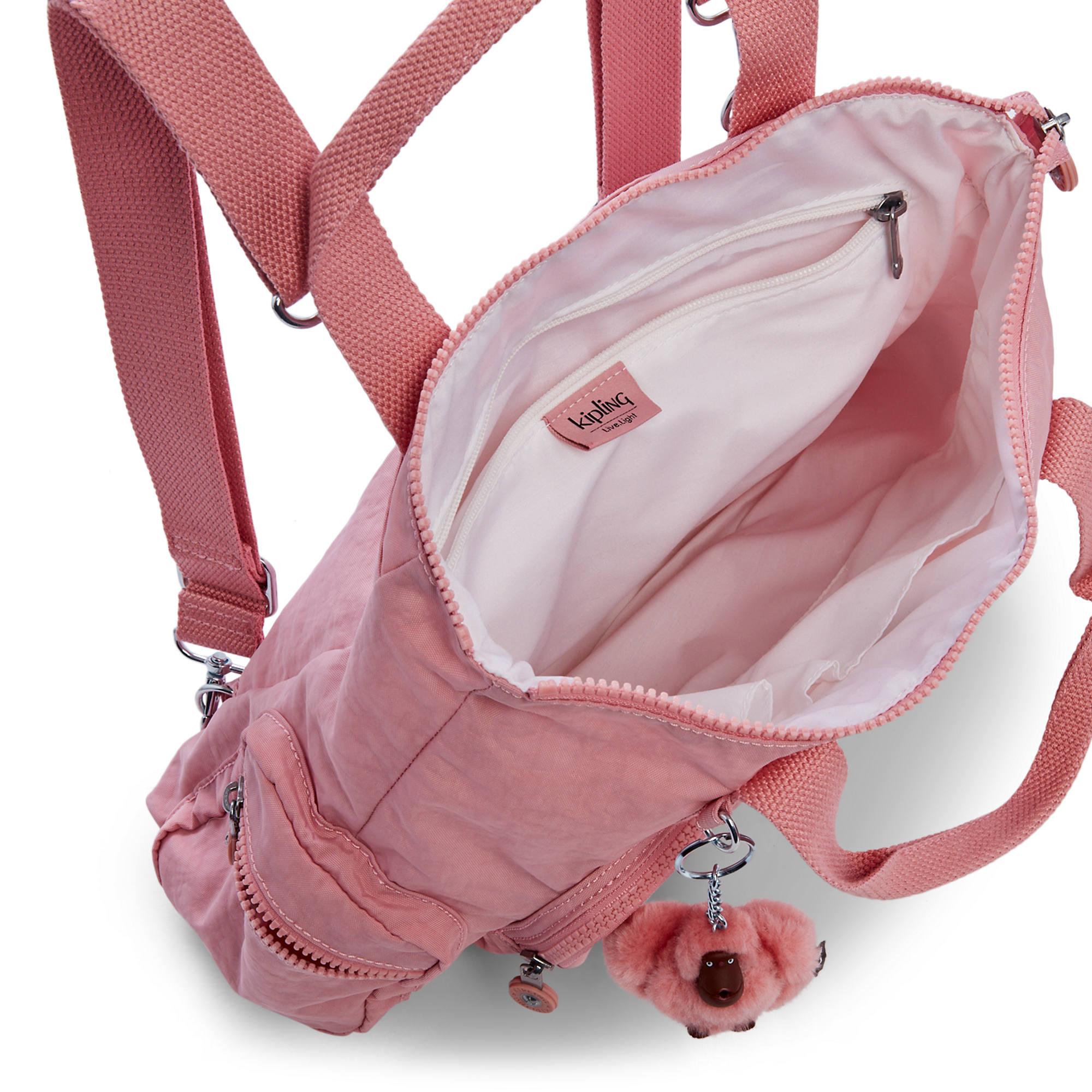 Kipling-Alvy-2-In-1-Convertible-Tote-Bag-Backpack miniatura 39