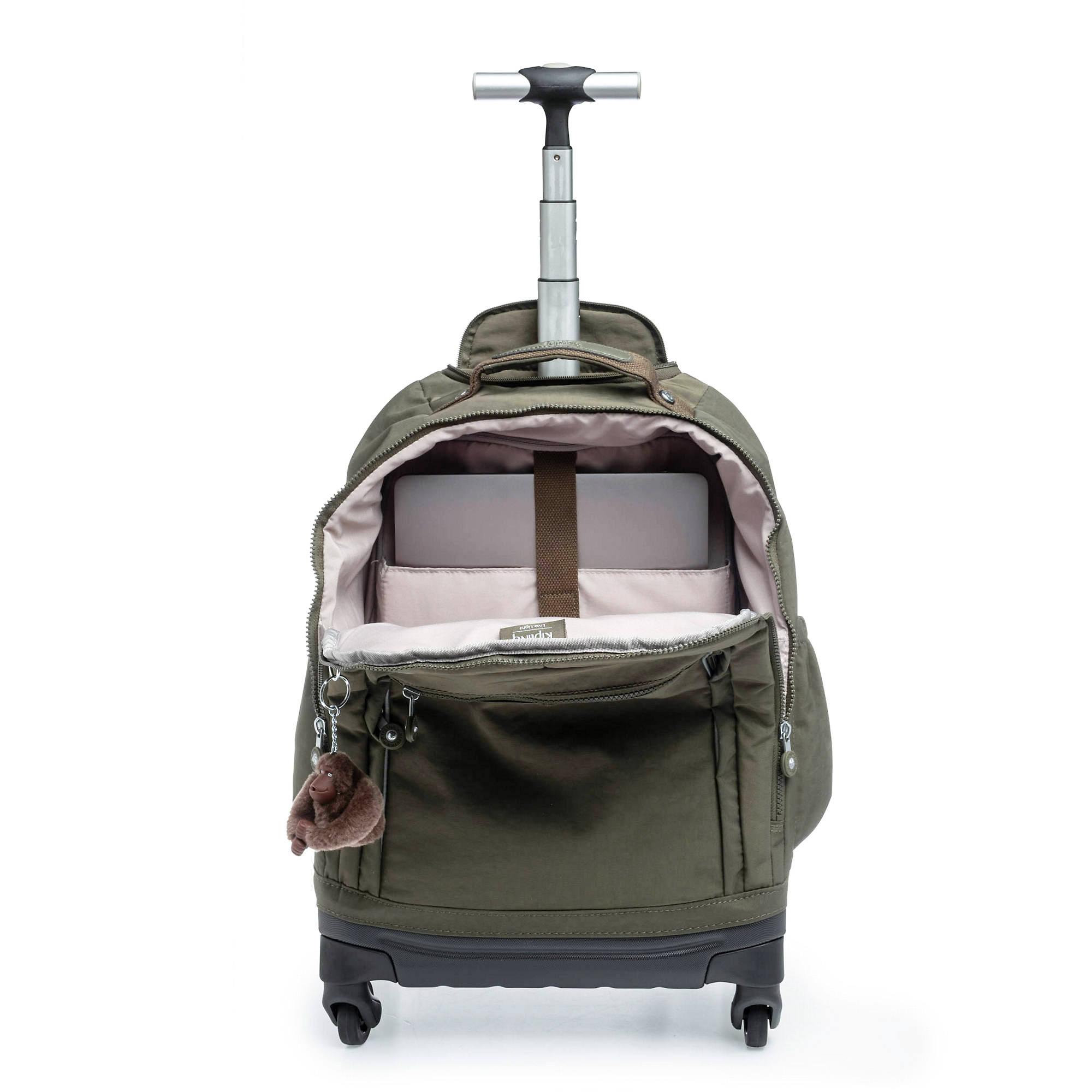 Kipling Echo Ii Rolling Backpack Ebay