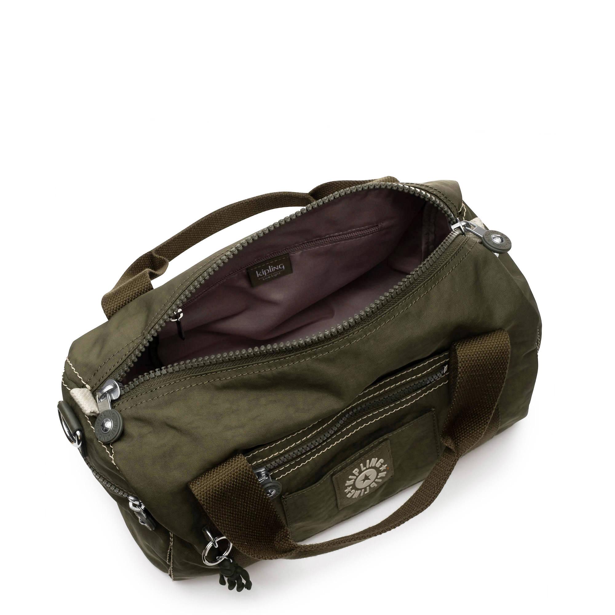 Tag Along Handbag,Jaded Green Tonal Zipper,large-zoomed