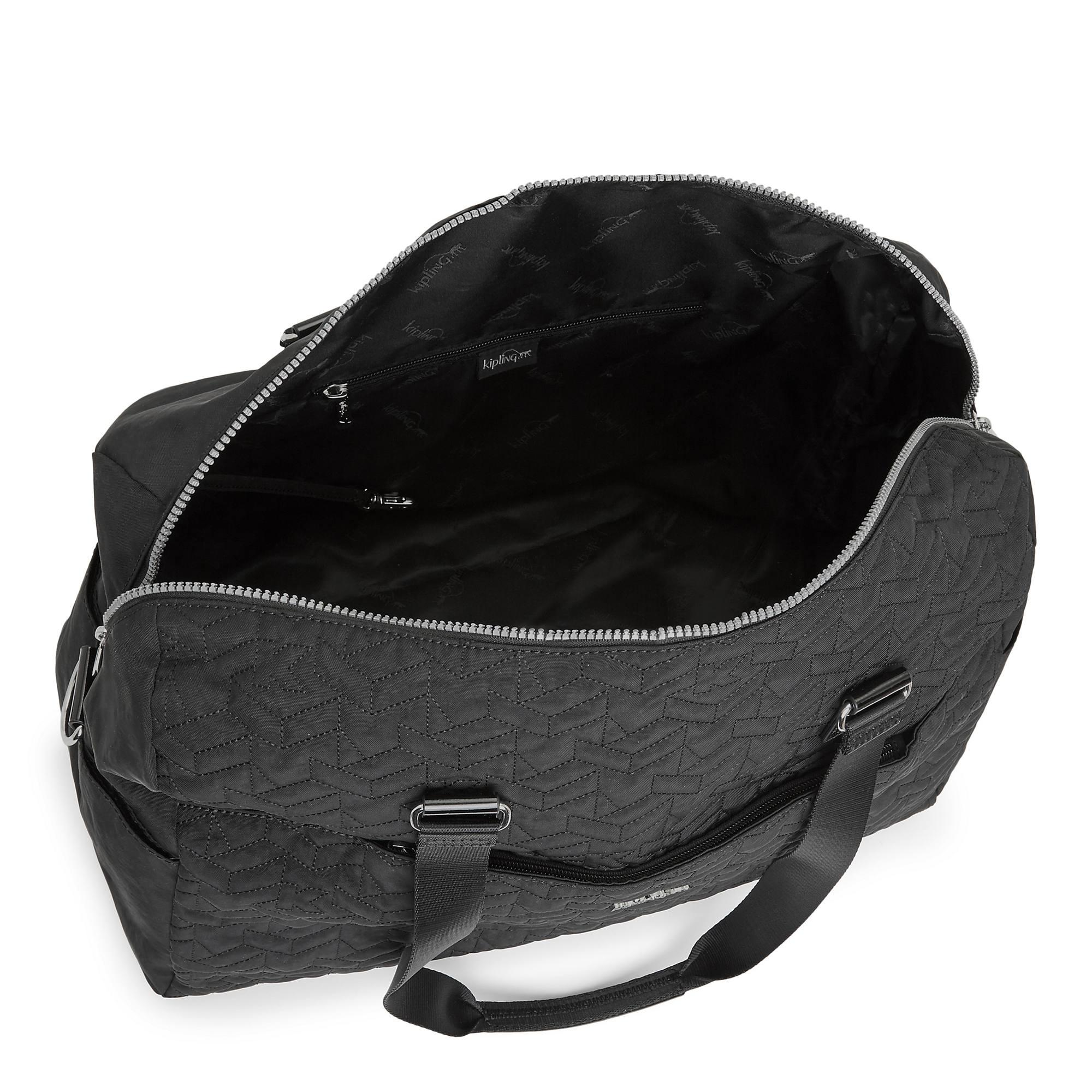 Sasso Quilted Weekender Tote Bag Kipling