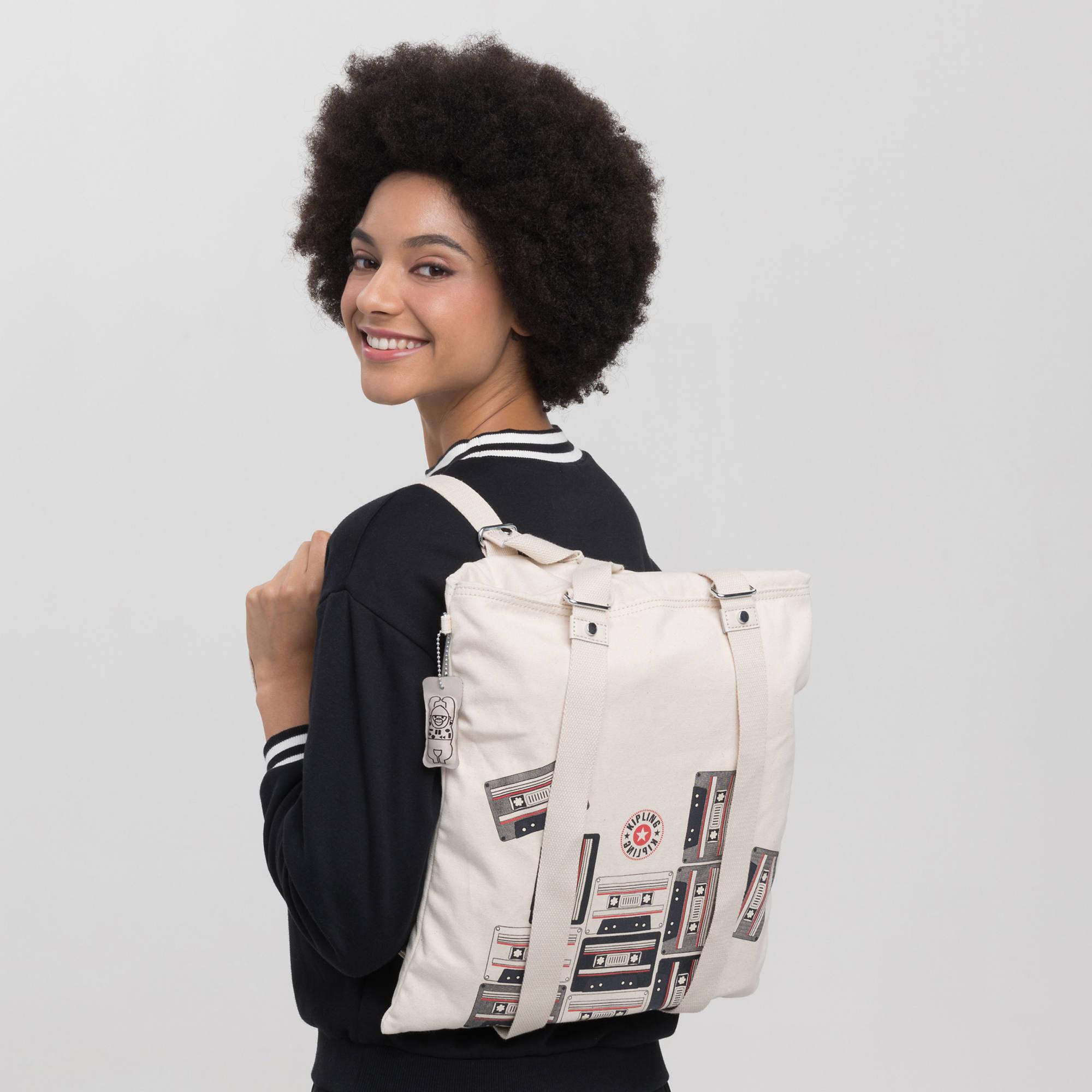Lovilia Convertible Bag,Cassette Pile,large-zoomed