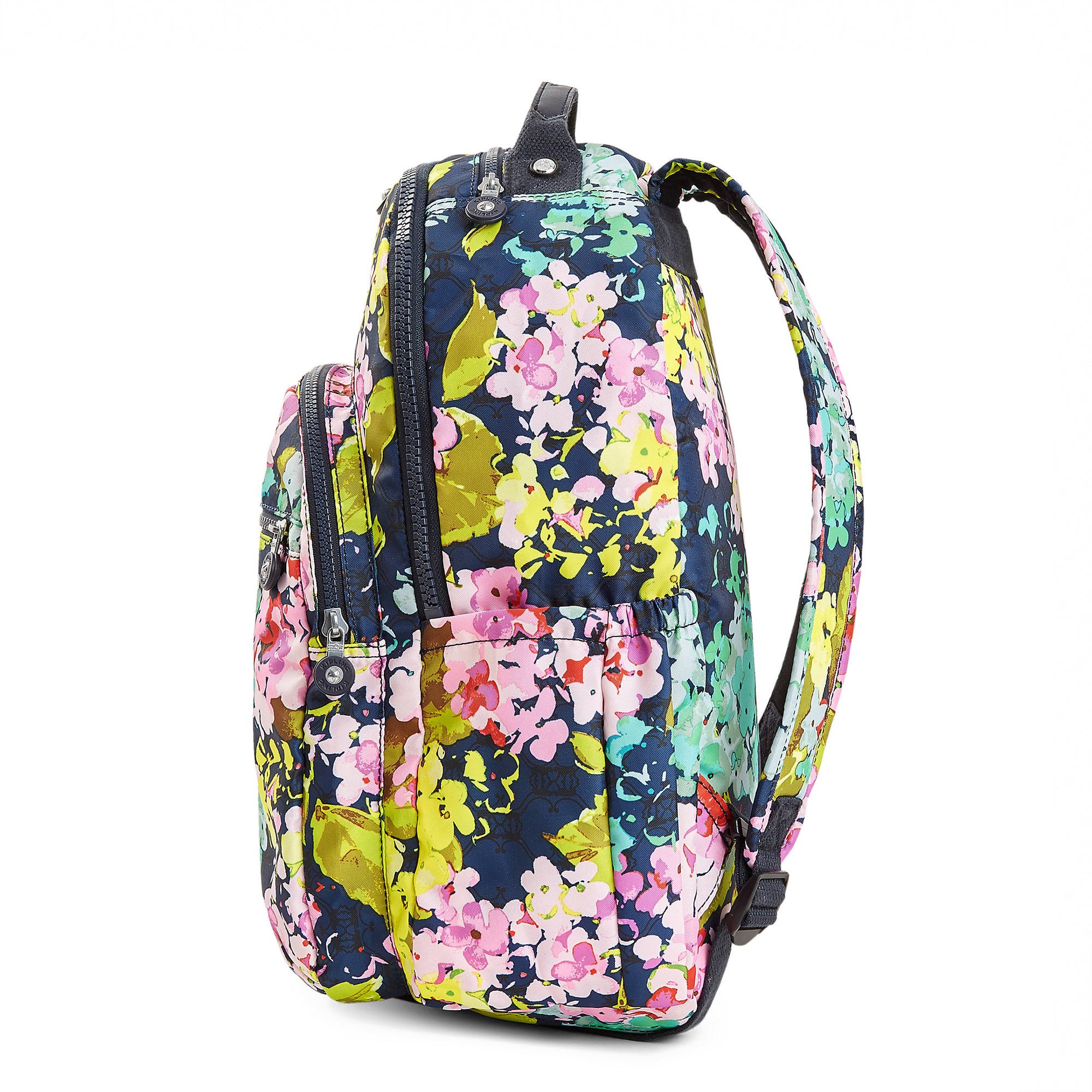 032bc7d859 Seoul Large Printed Laptop Backpack,Luscious Florals Blue,large