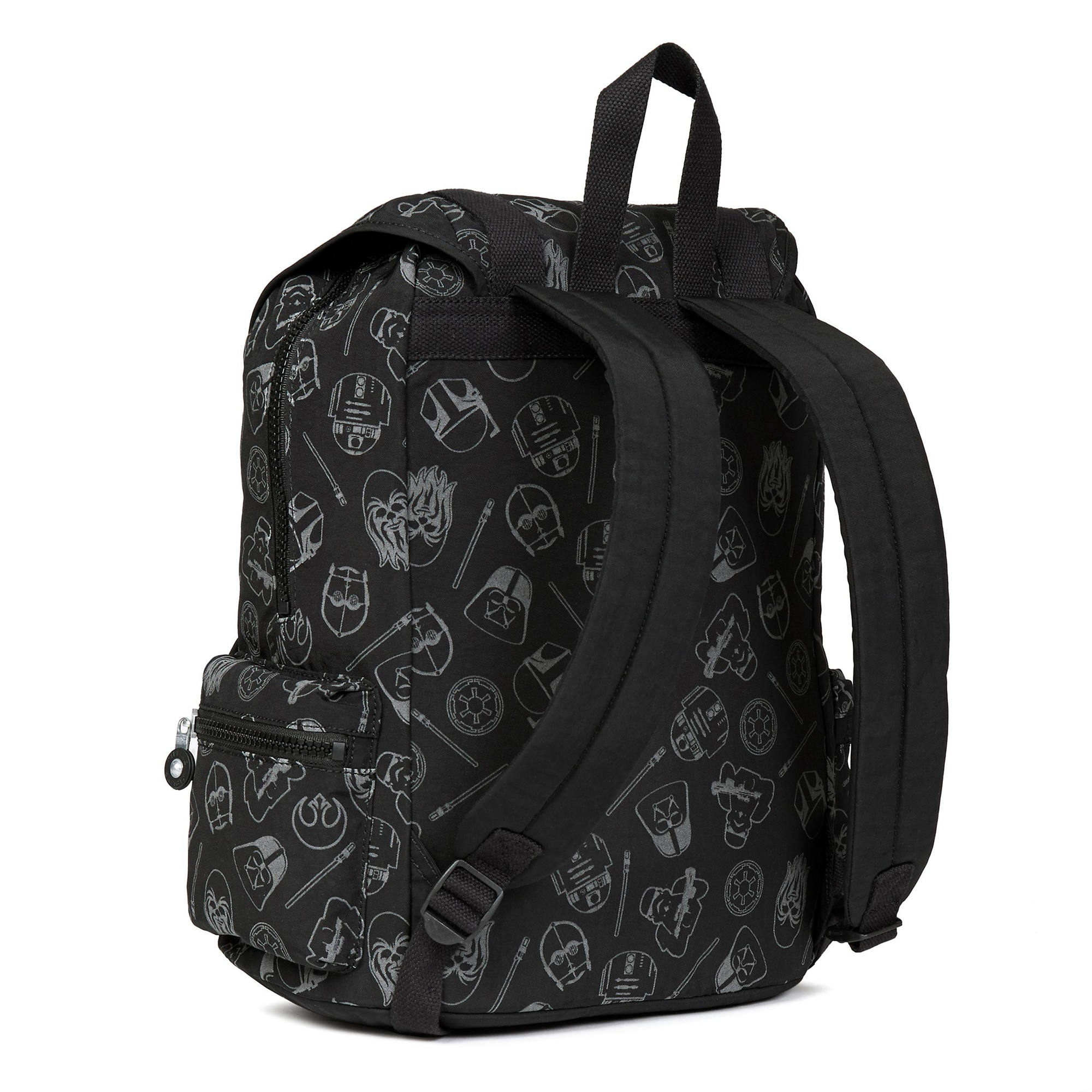 Star Wars Siggy Printed Large Reflective Laptop Backpack