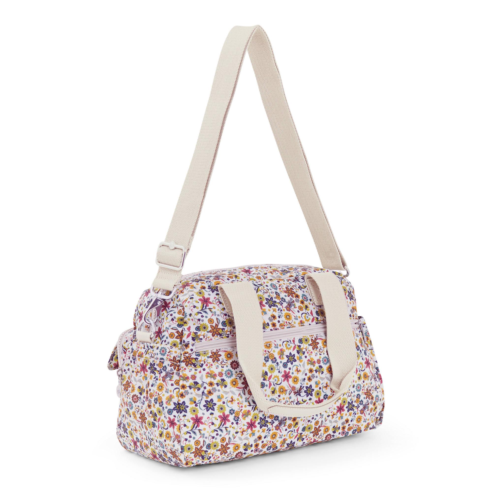 Defea Printed Handbag Kipling