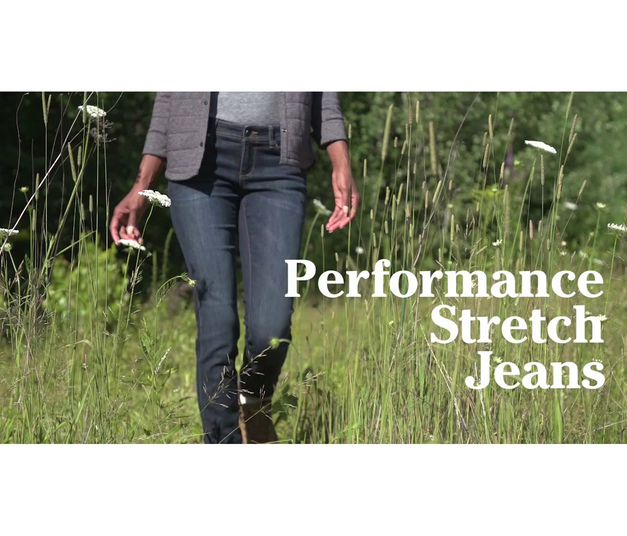 Beans Performance Stretch Jean Ws