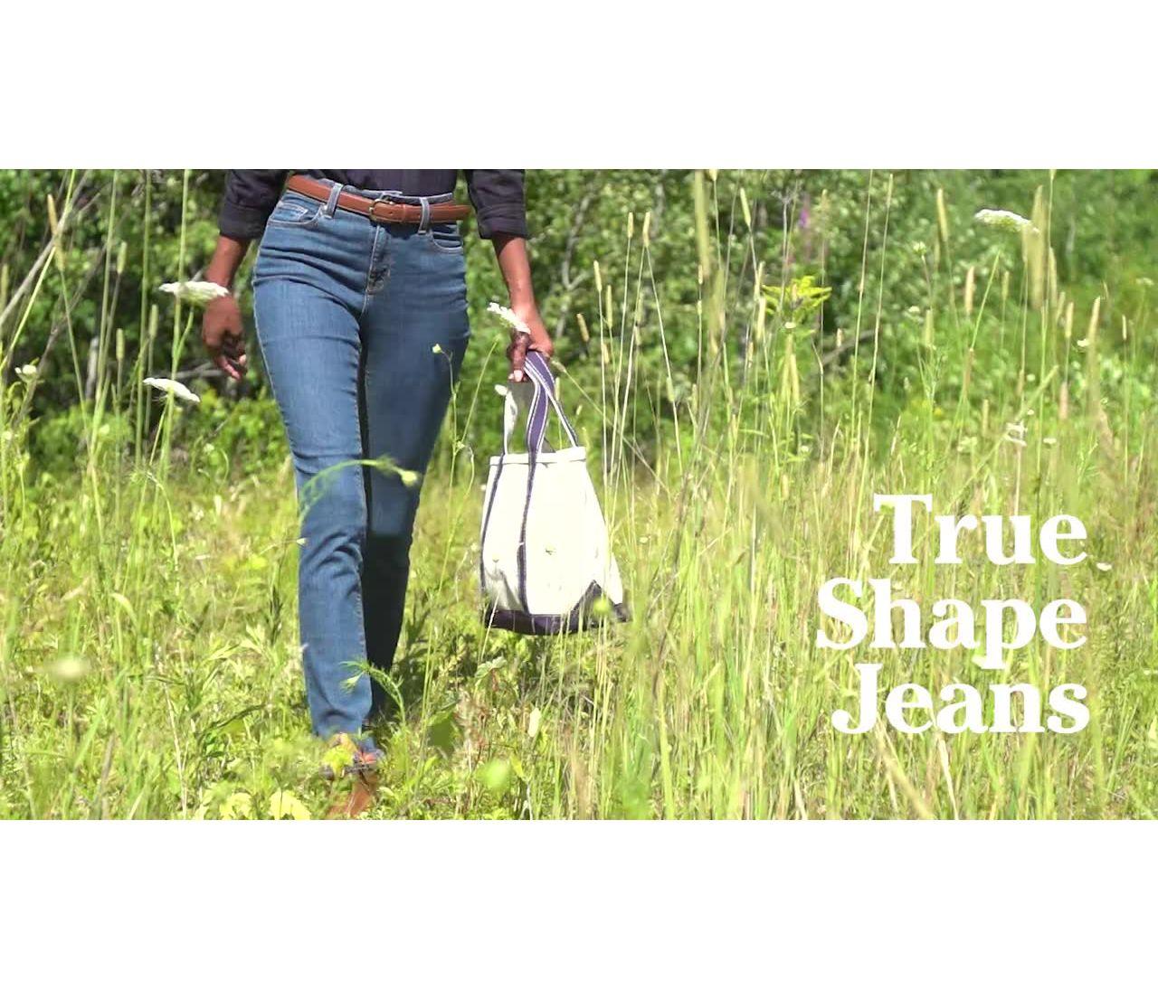 True Shape Classic Fit Slim Leg Ws
