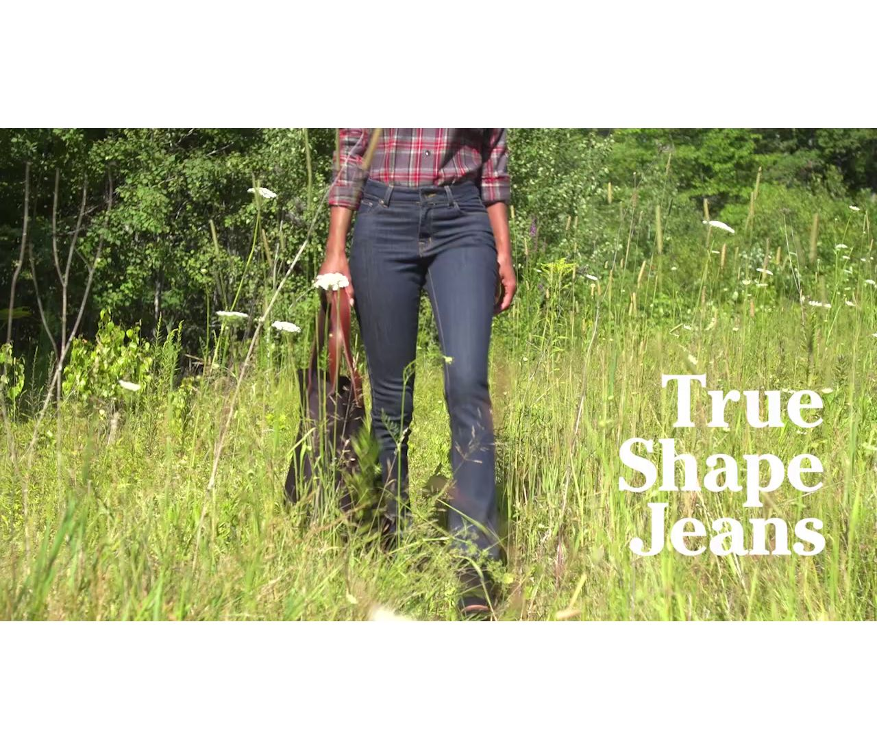 True Shape Favorite Fit Slim Leg Ws