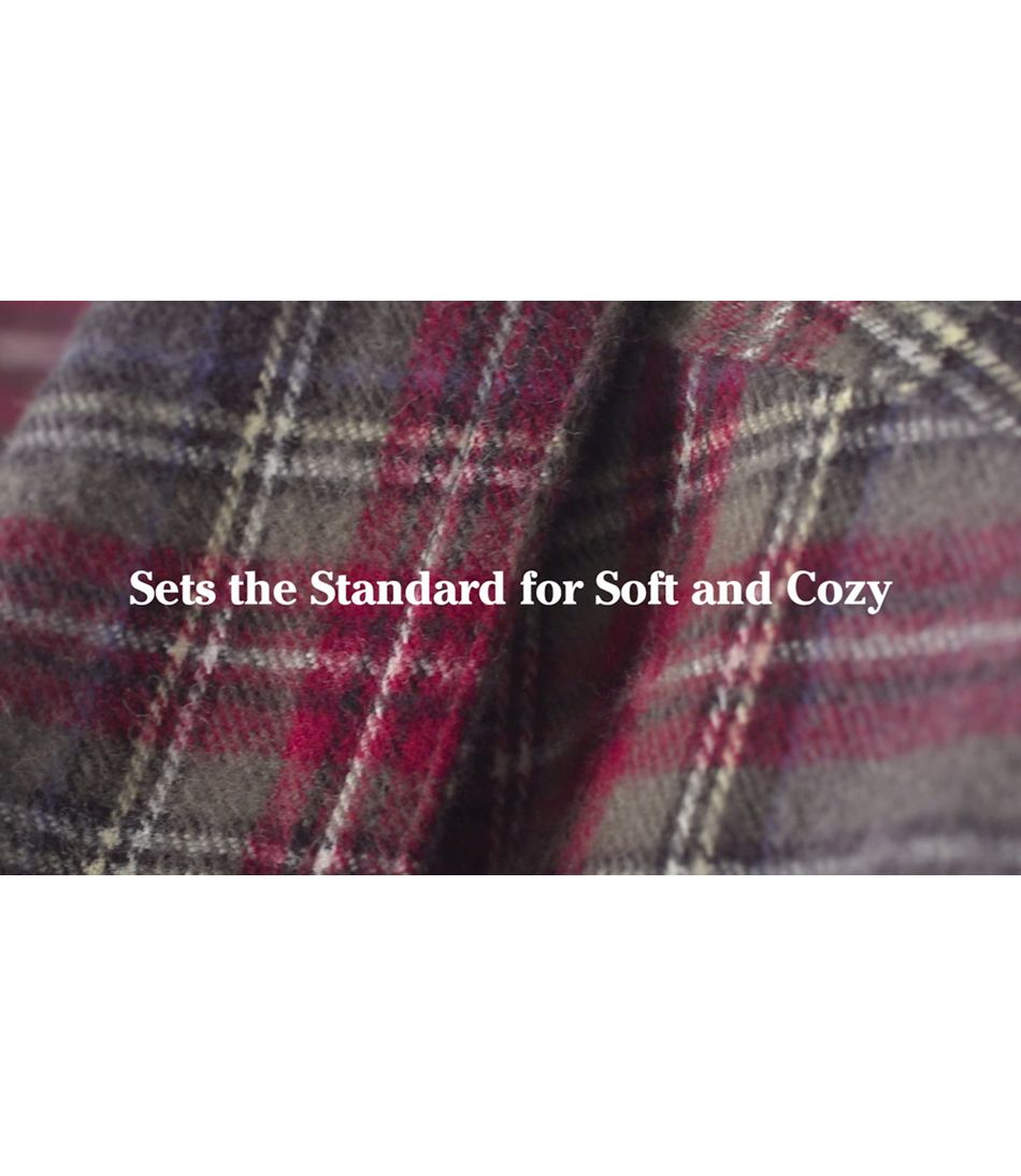Scotch Plaid Flannel Shirt Ms