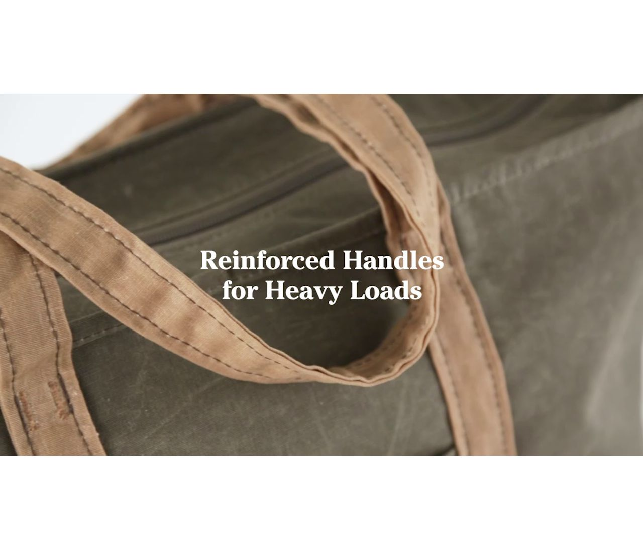 Waxed Canvas Totes