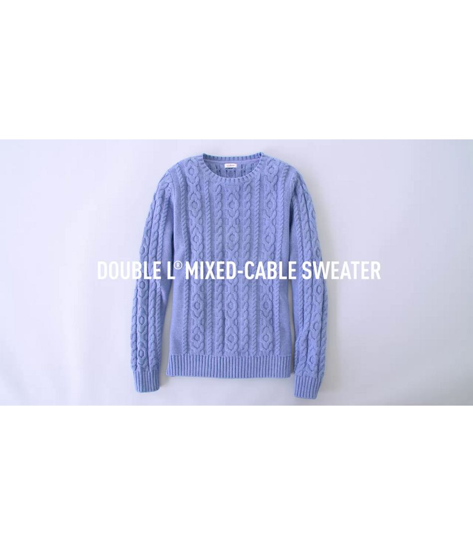 Video: DoubleL Cable Sweater