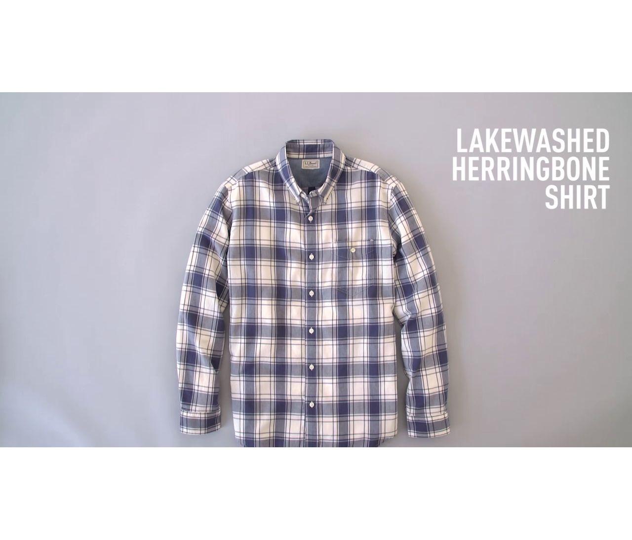 Video: Lakewashed Herringbone Shirt