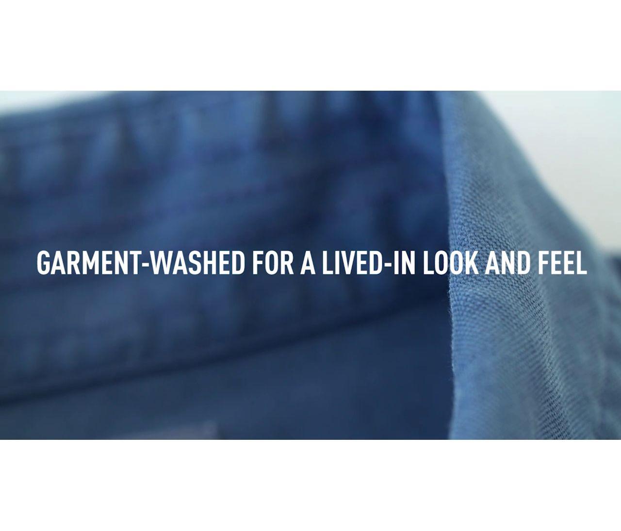 Video: Lake Washed Sport Shirt