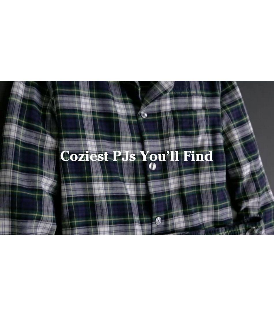Video: Scotch Plaid Fln Pajamas