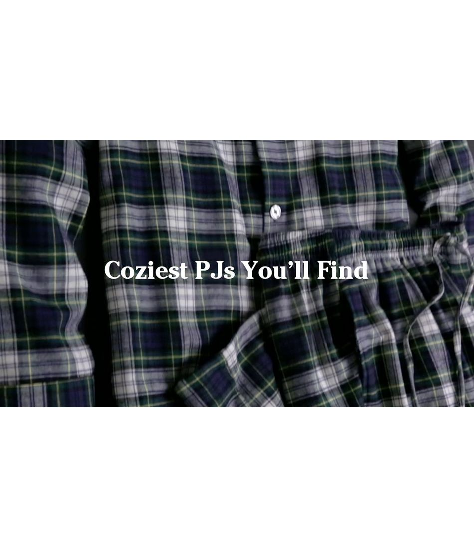 Video: Scotch Plaid Fln Pajamas