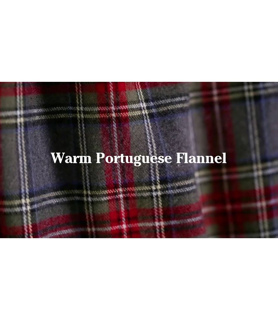 Video: Scotch Plaid Flannel Sleep Pants Mens