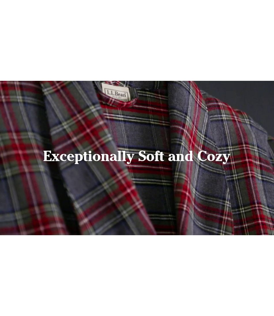Video: Scotch Pld Flannel Robe