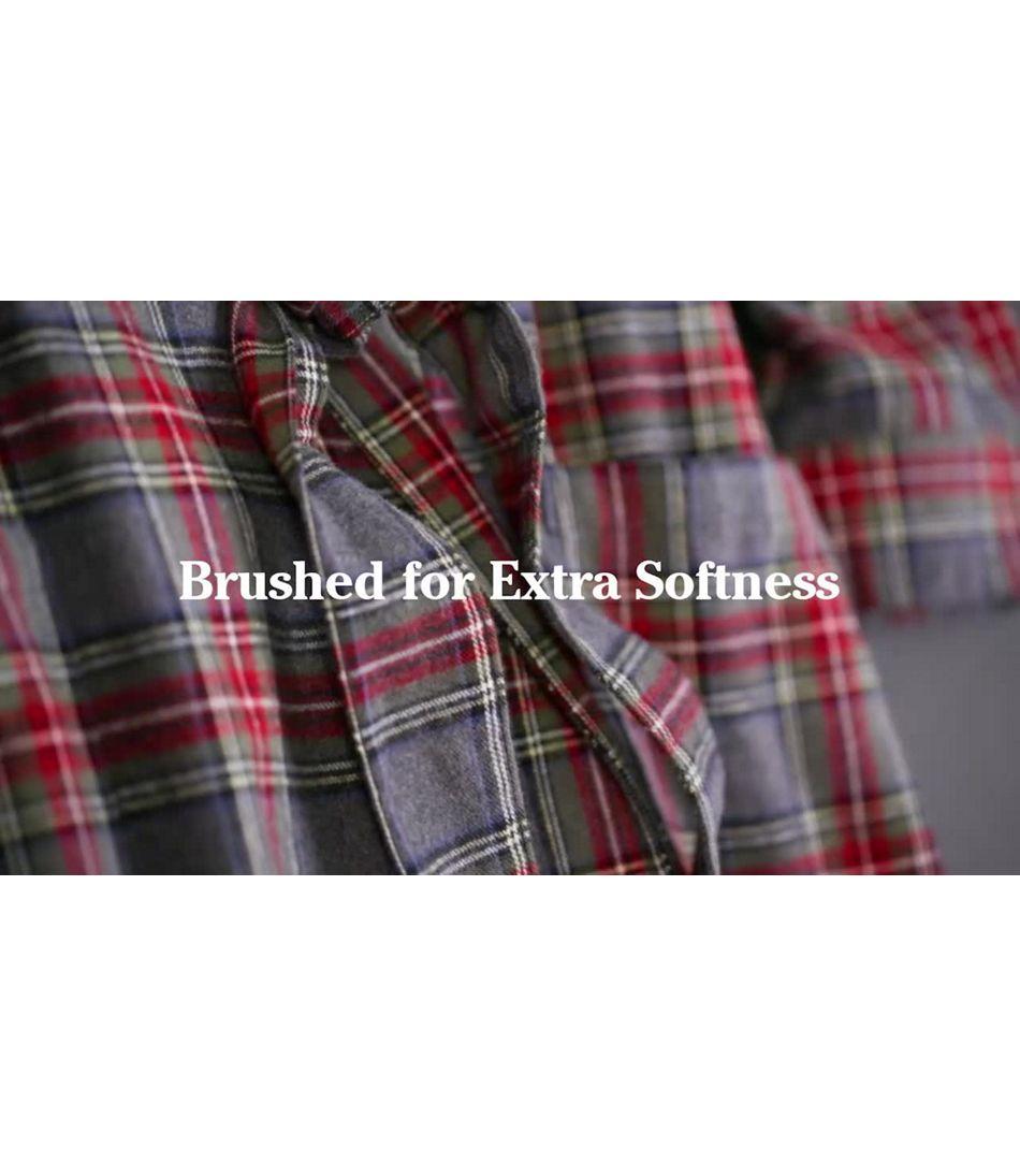 Video: Scotch Pld Flannel Robe