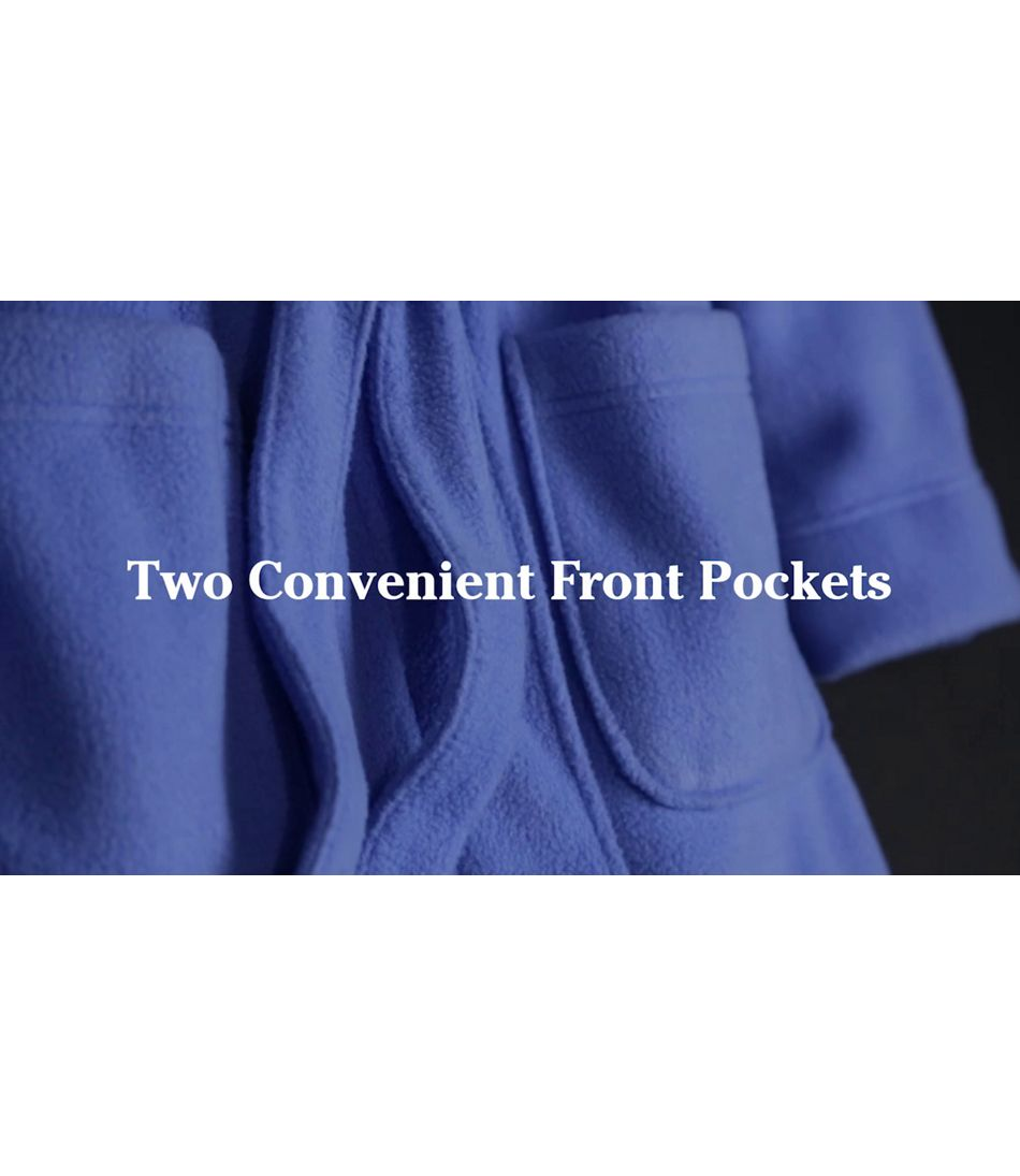 Video: Winter Fleece Robe Wrp Rev