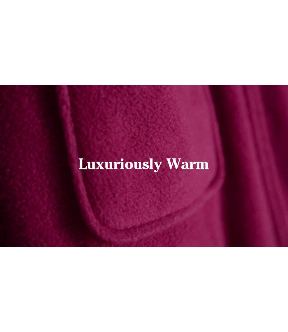 Video: Winter Fleece Zip Robe Revd