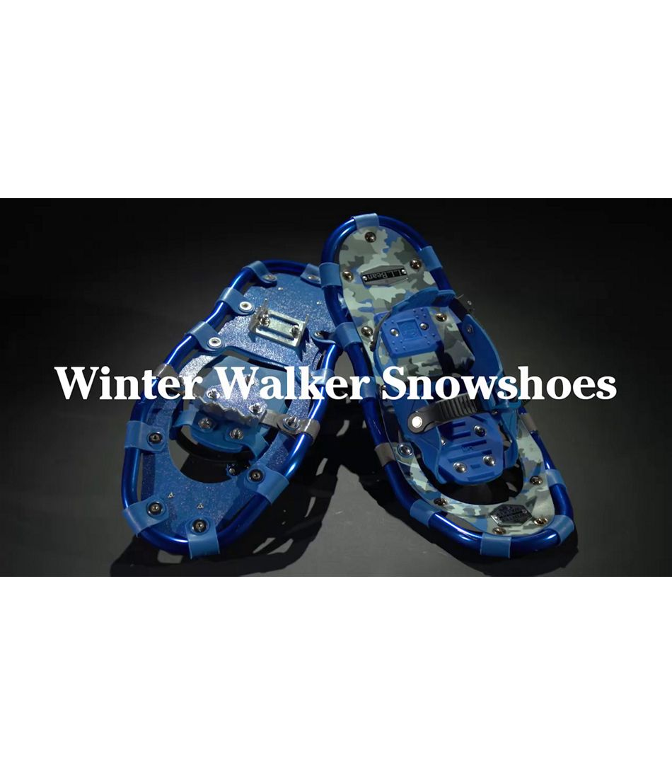 Video: Kids Winter Walker Snowshoes