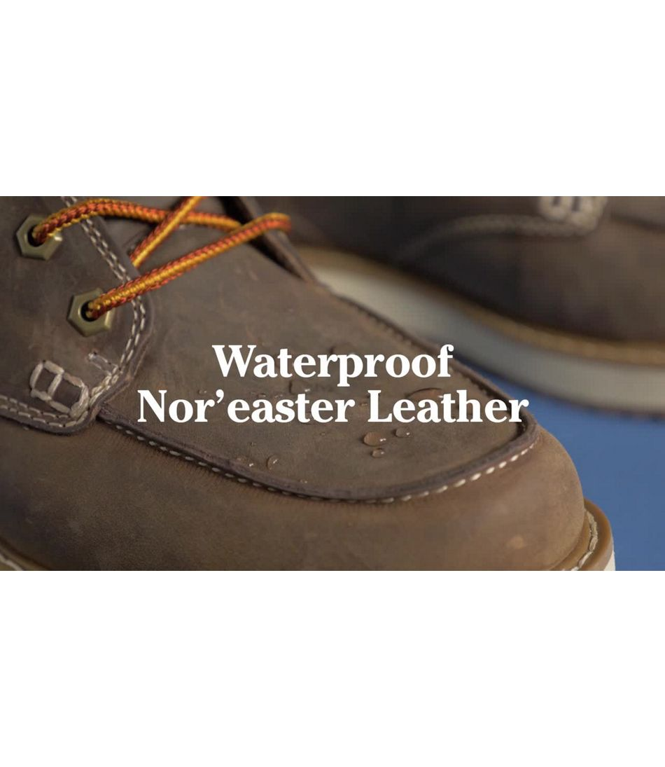 Video: Stonington Boot Moc Toe Mens