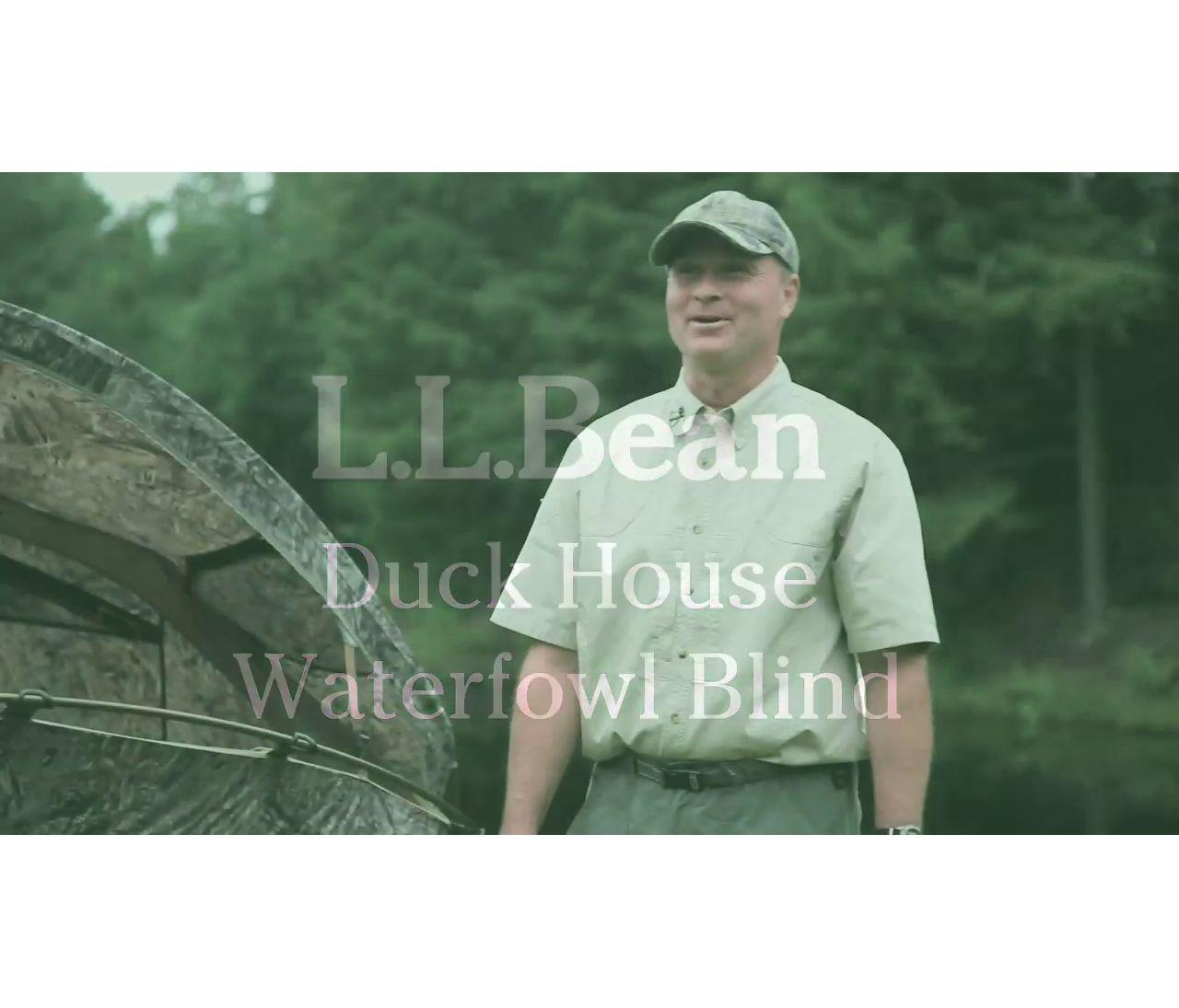 Video: Duck House Waterfowl Blind
