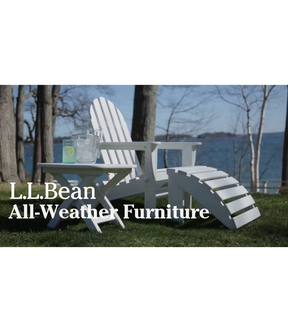 Video: All-Weather Adirondack Chair