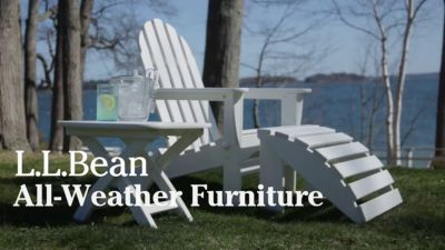 Video: All Weather Adirondack Chair