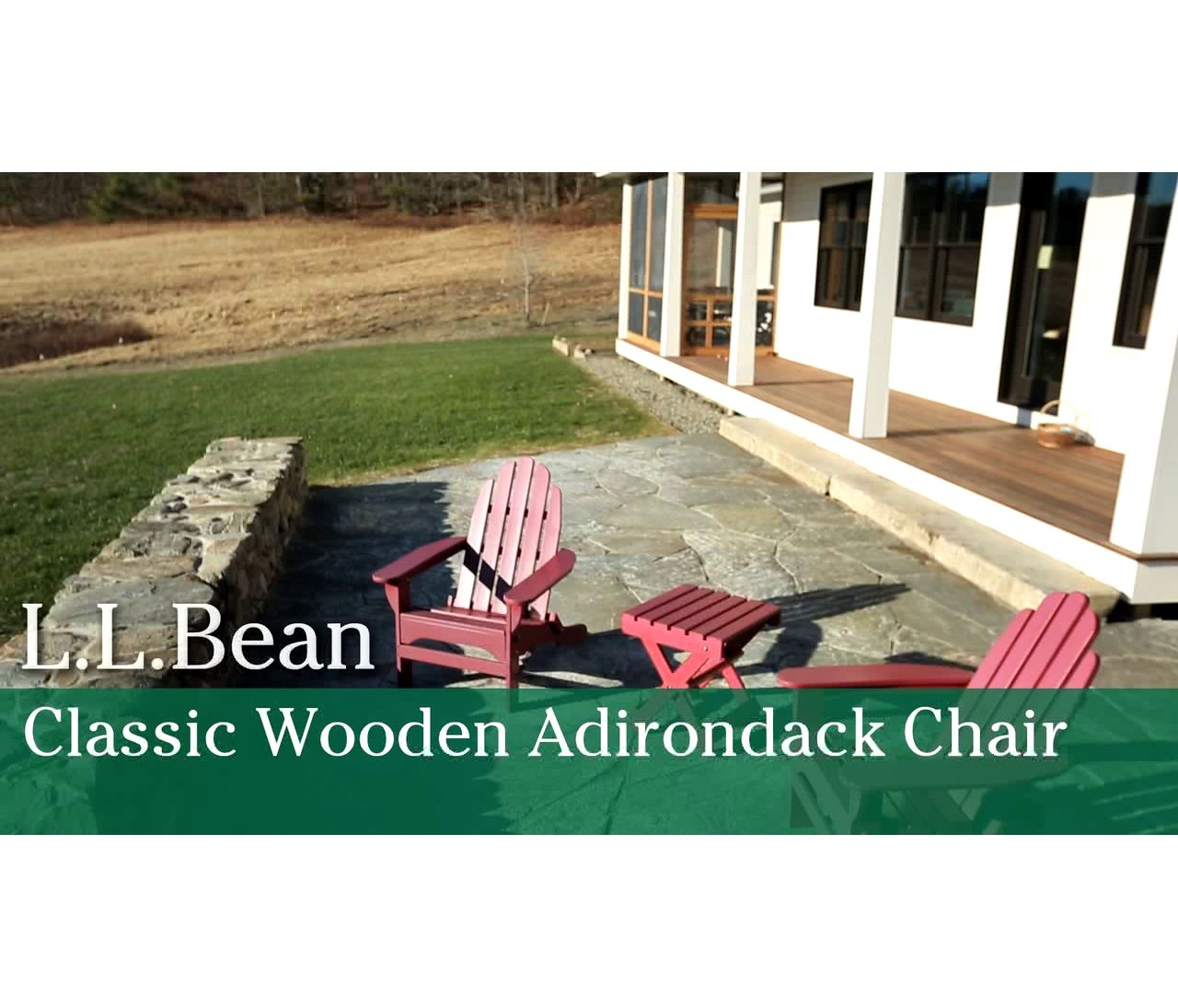 Video: Adirondack Chair