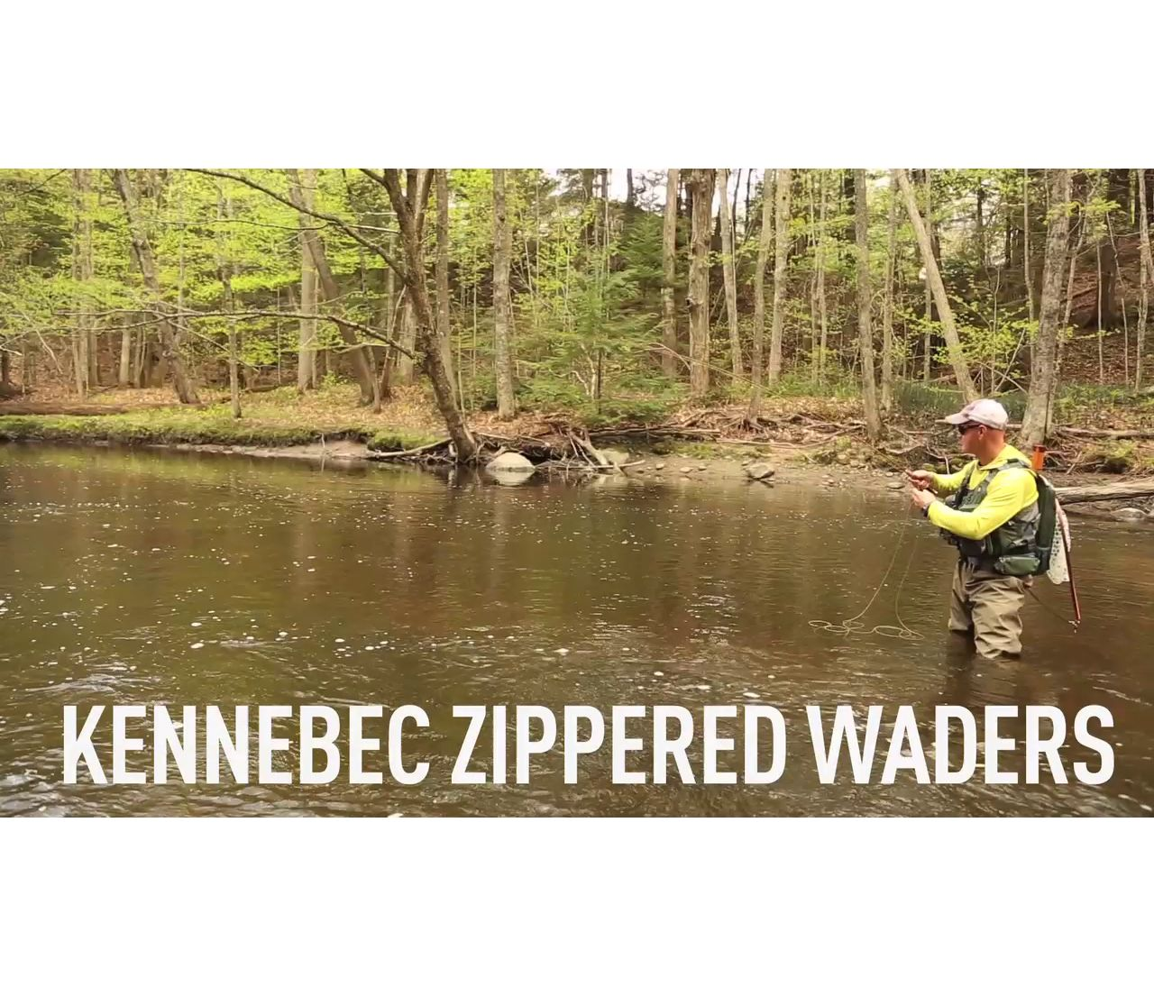 Video: Kennebec Waders with Superseam Technology, Zippered-Chest Stocking Foot