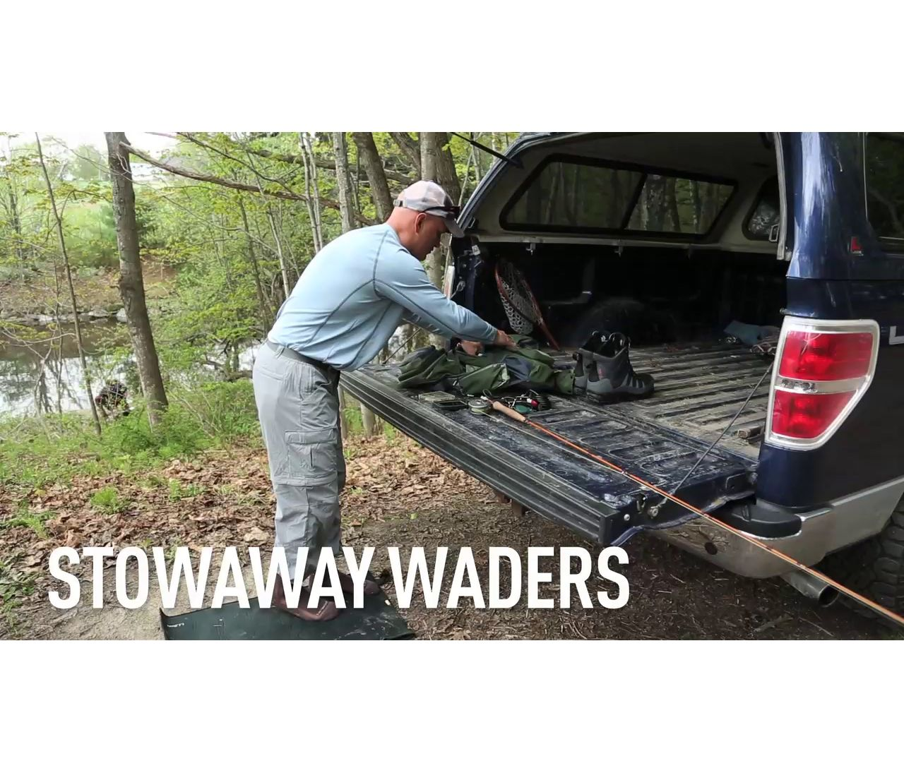 Video: Stowaway Ultralight Waders
