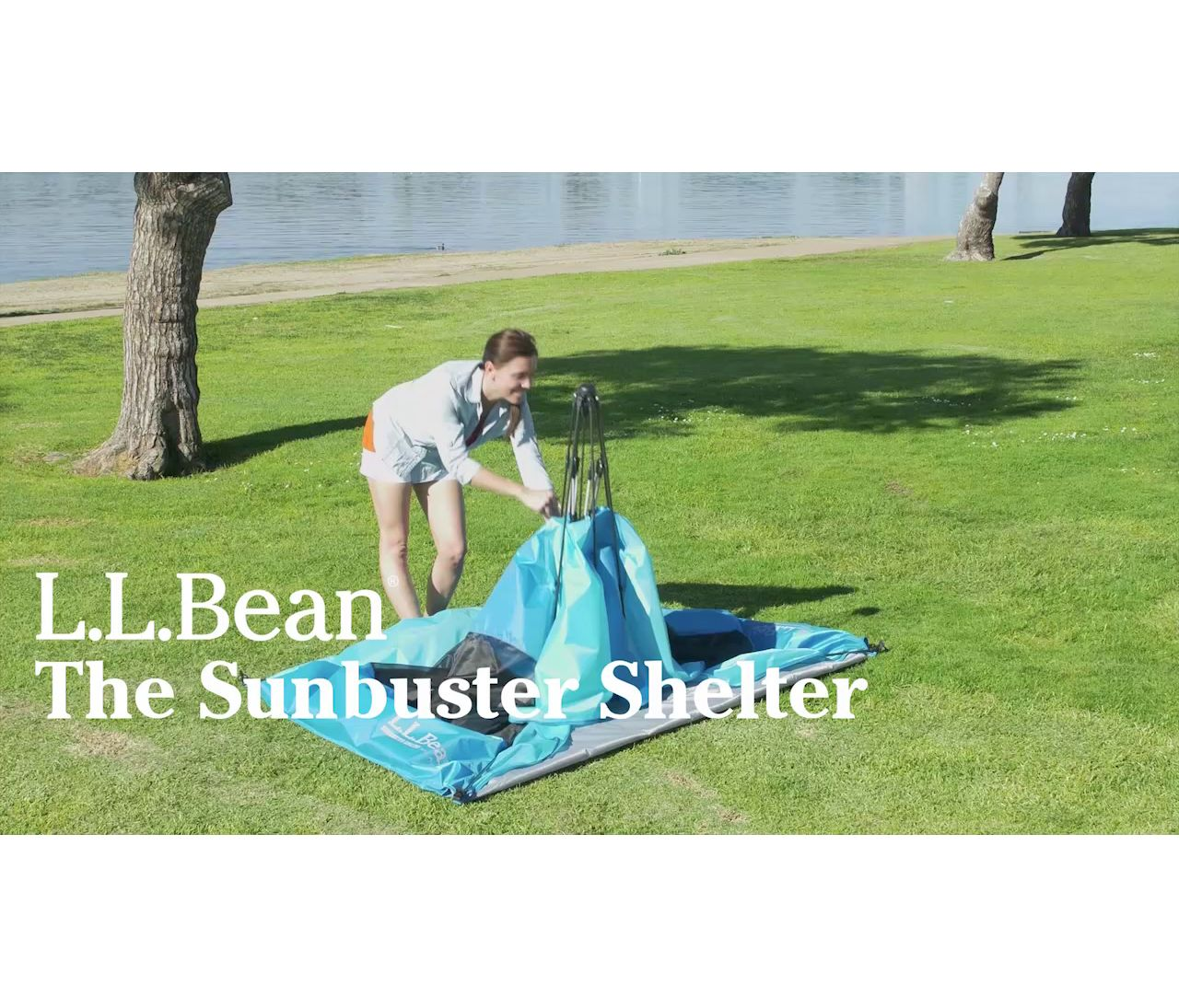 Video: Sunbuster Folding Shelter