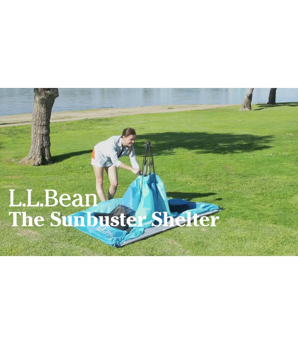 Video: Sunbuster Folding Shelter