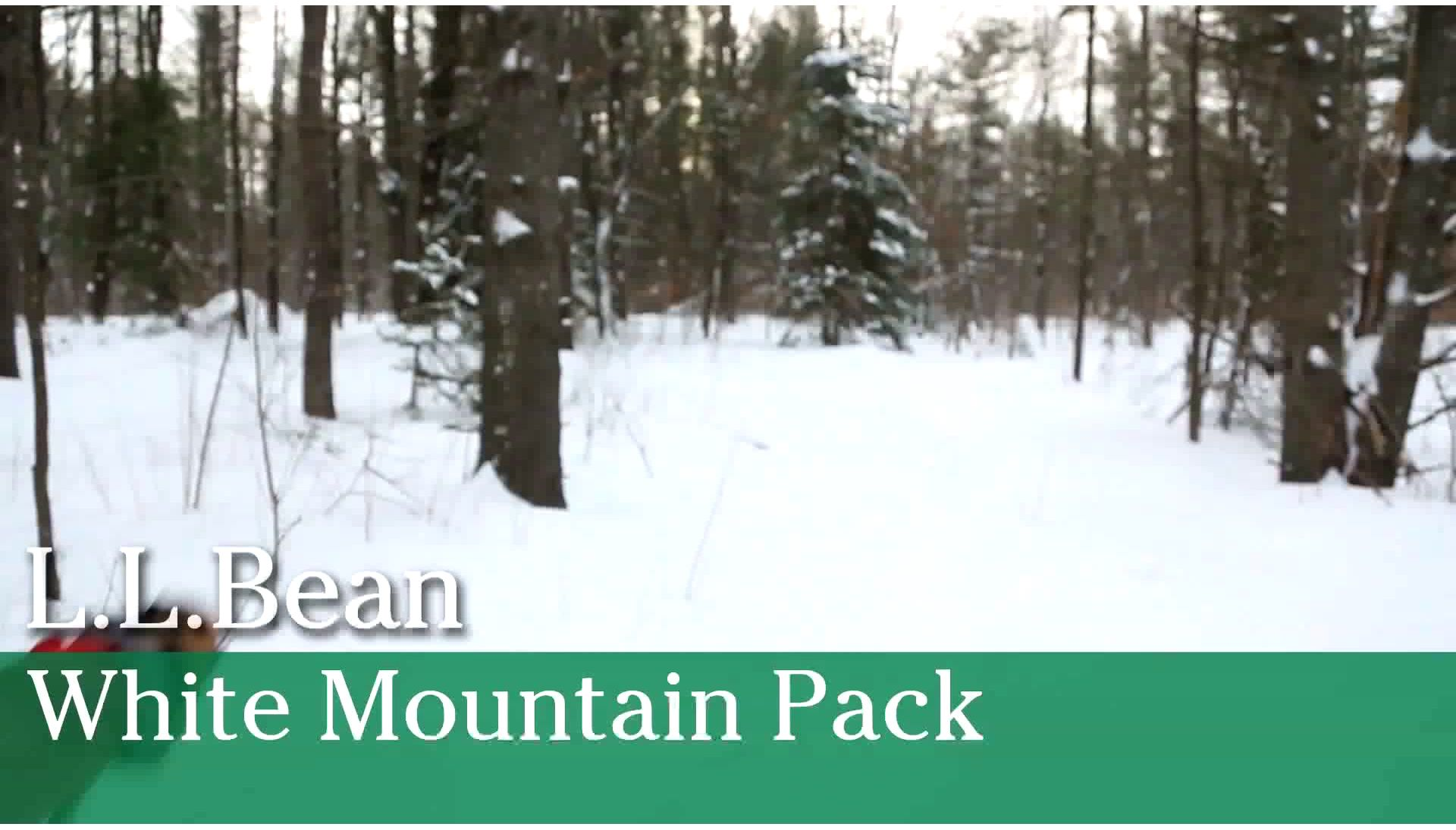 Video: White Mountain Pack