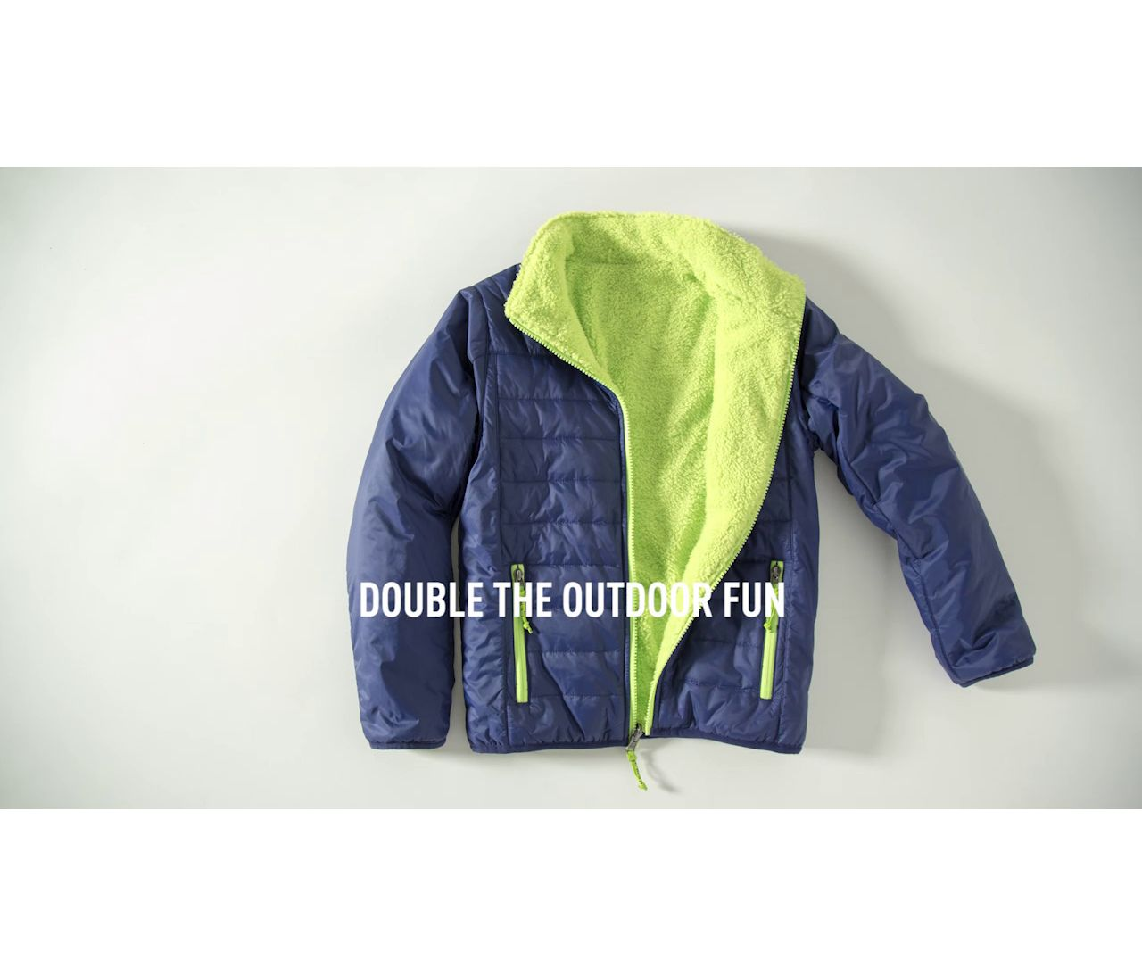 Video: Boys Mountain Bound Reversible Jacket