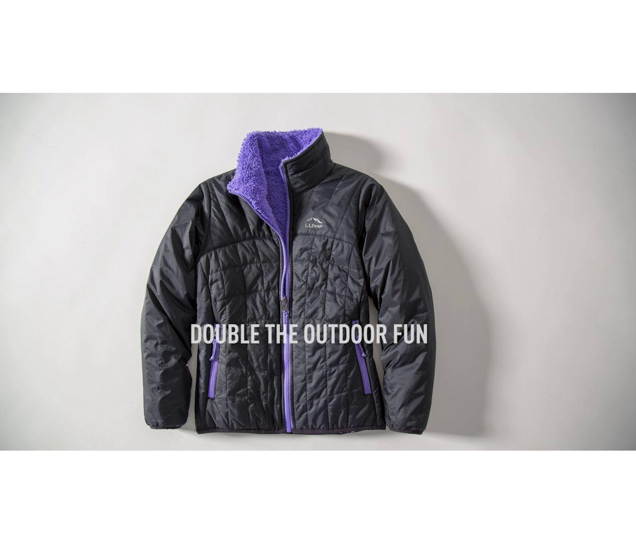 Video: Girls Mountain Bound Reversible Jacket